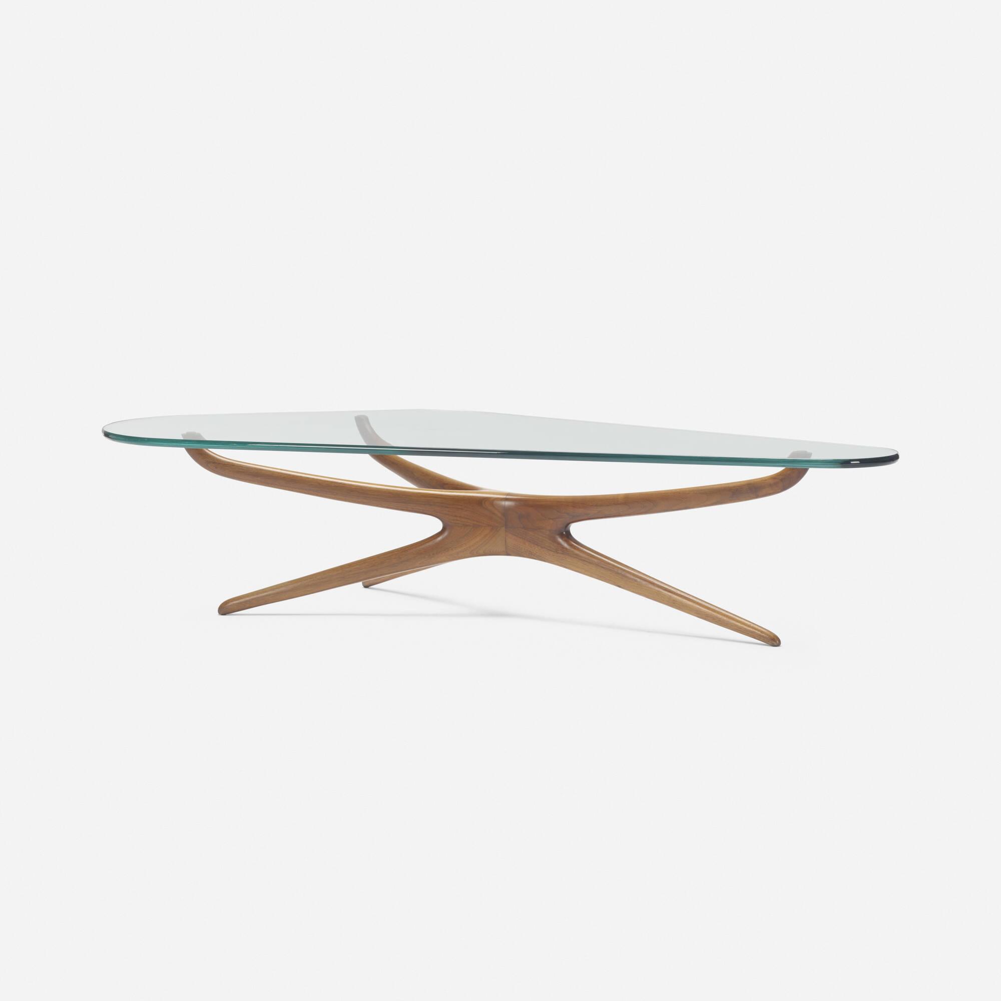357: Vladimir Kagan / Tri-symmetric coffee table (2 of 2)