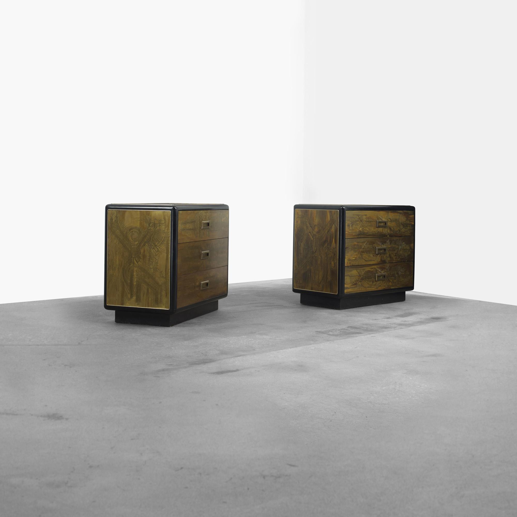 357: Mastercraft / Cabinets, Pair (2 Of 3) ...