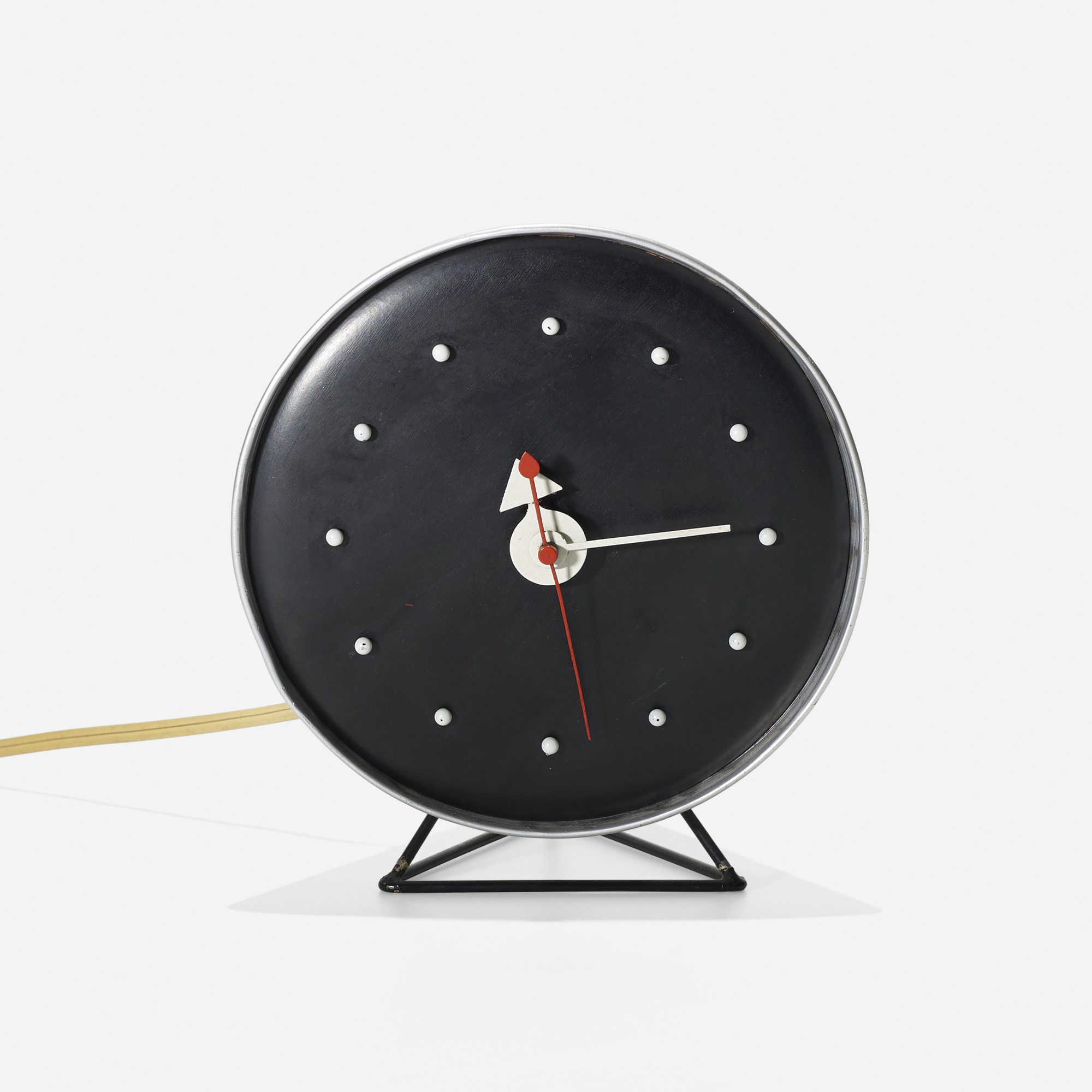 ... 358: George Nelson U0026 Associates / Cone Table Clock, Model 2218C (2 Of
