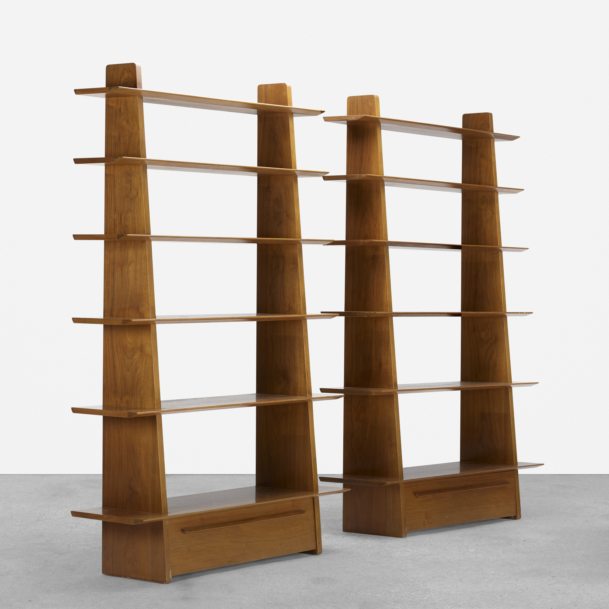 359: Edward Wormley / bookcases model 5264, pair (1 of 3)