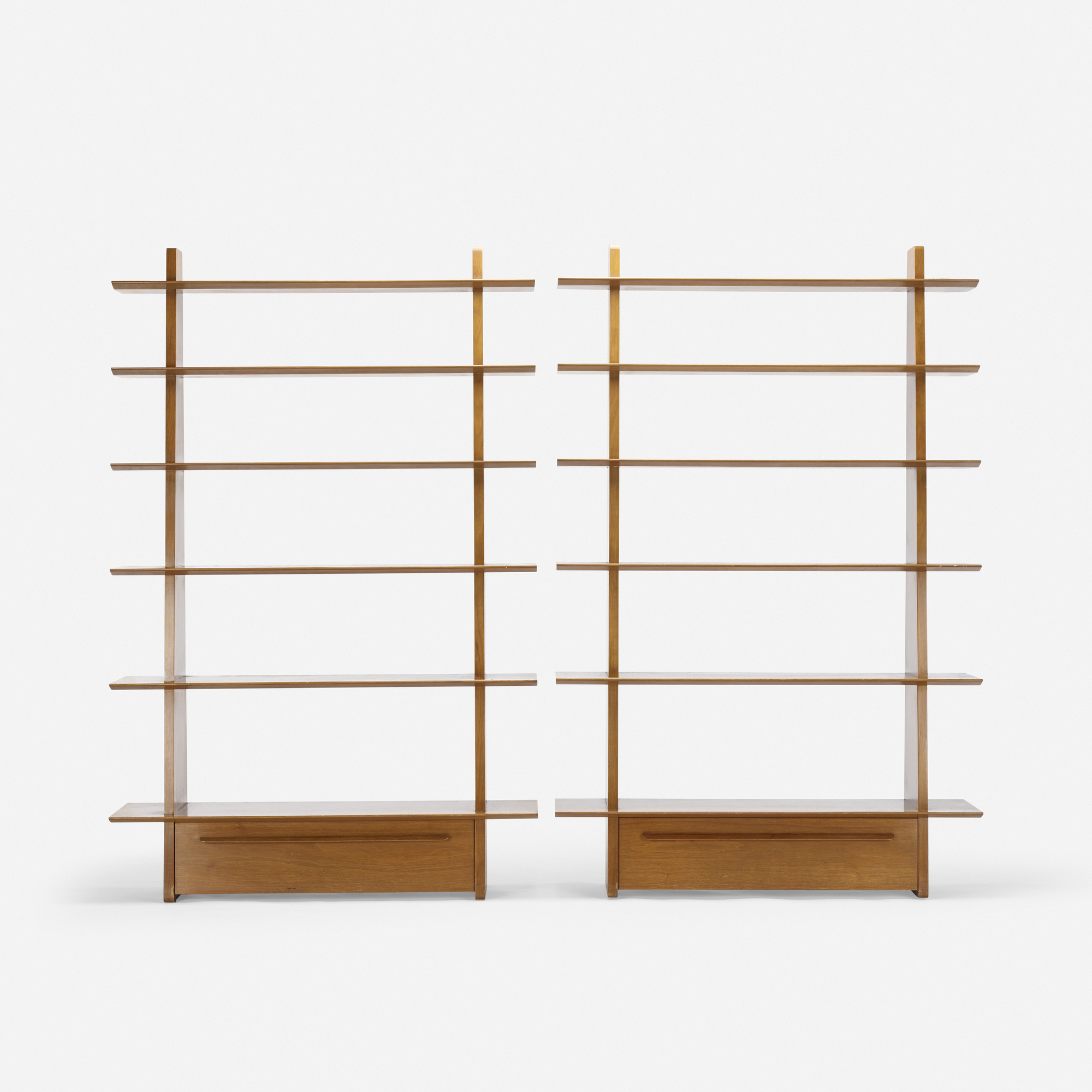 359: Edward Wormley / bookcases model 5264, pair (2 of 3)