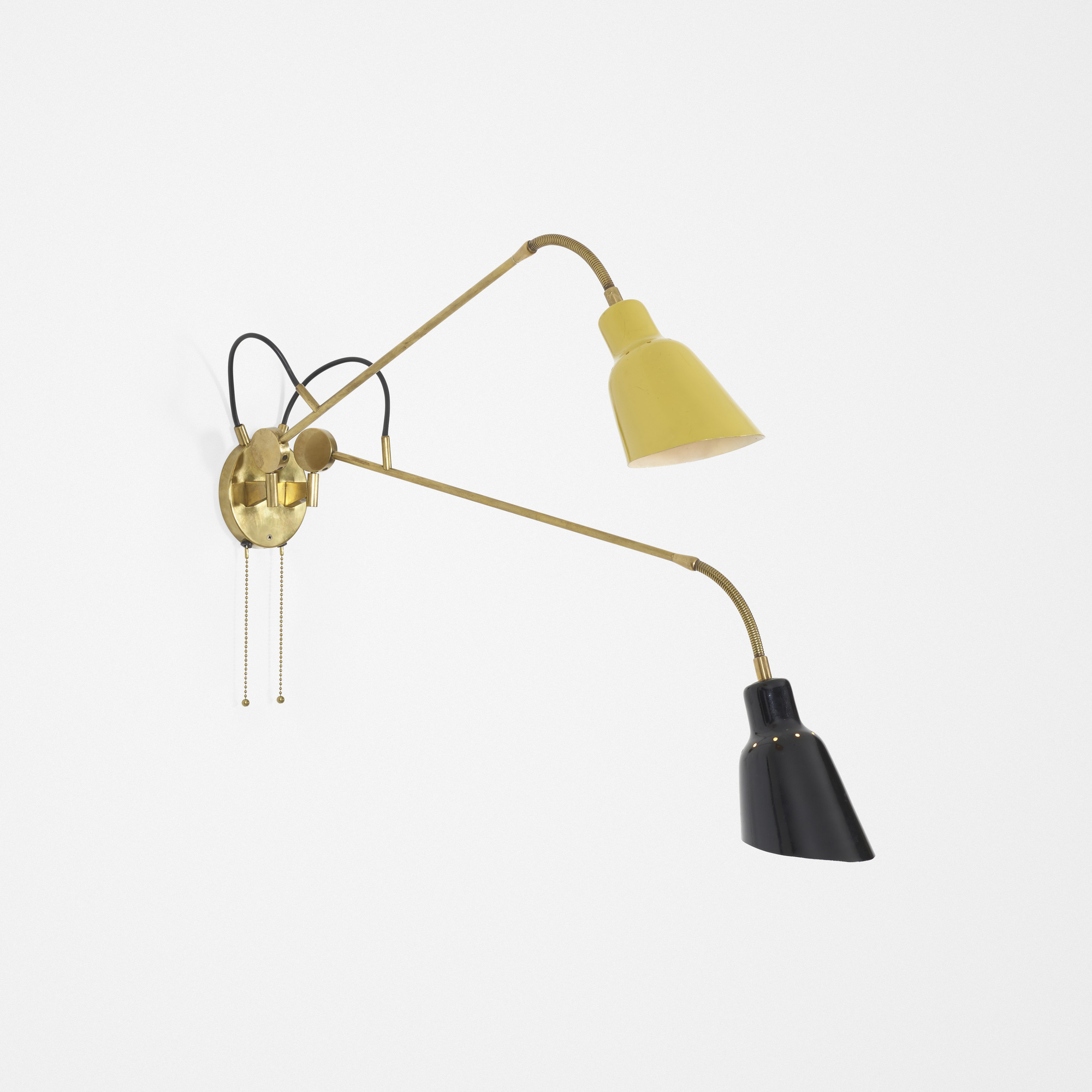35: Angelo Lelii / Rare articulated wall lamp (1 of 3)