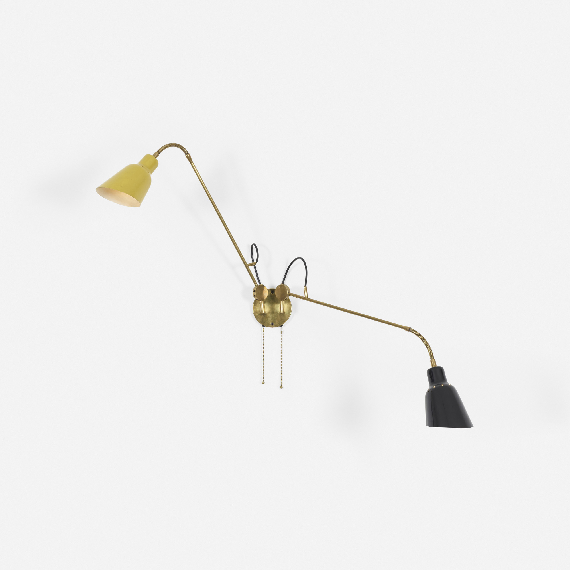 35: Angelo Lelii / Rare articulated wall lamp (2 of 3)