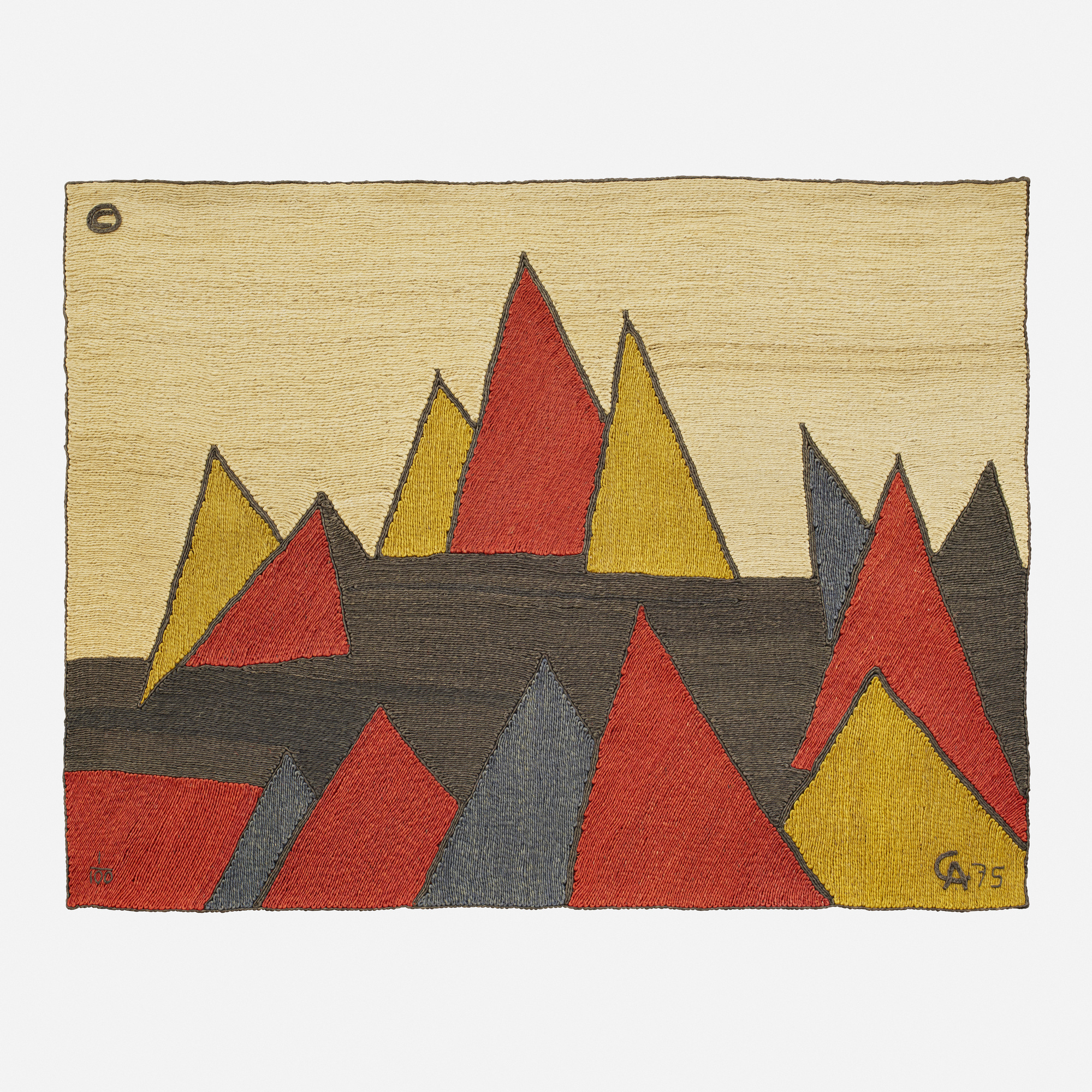360: After Alexander Calder / Pyramid tapestry (1 of 1)
