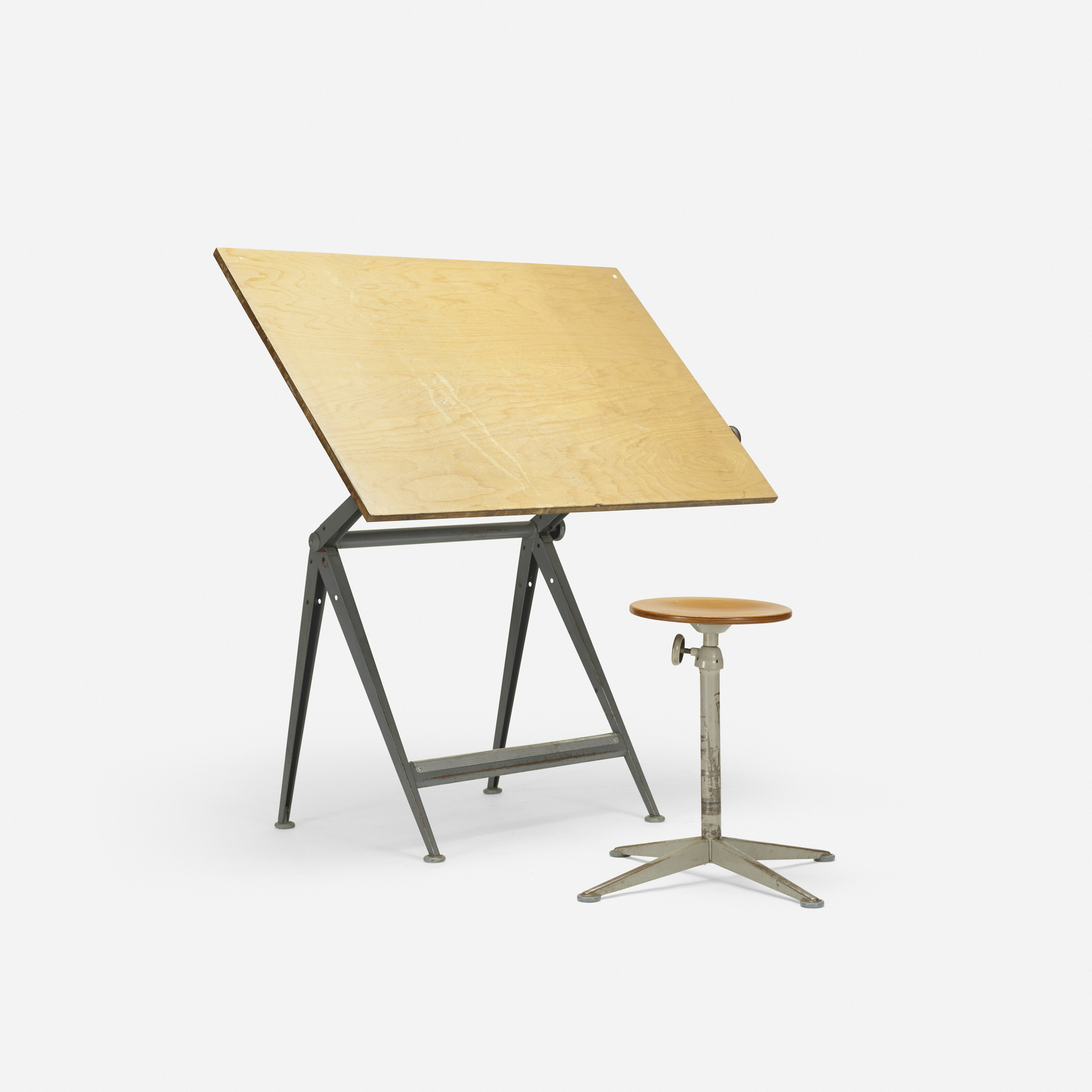 drafting studio on vision save discount utrecht glass at tiltable designs center with pin table stool drawers more top