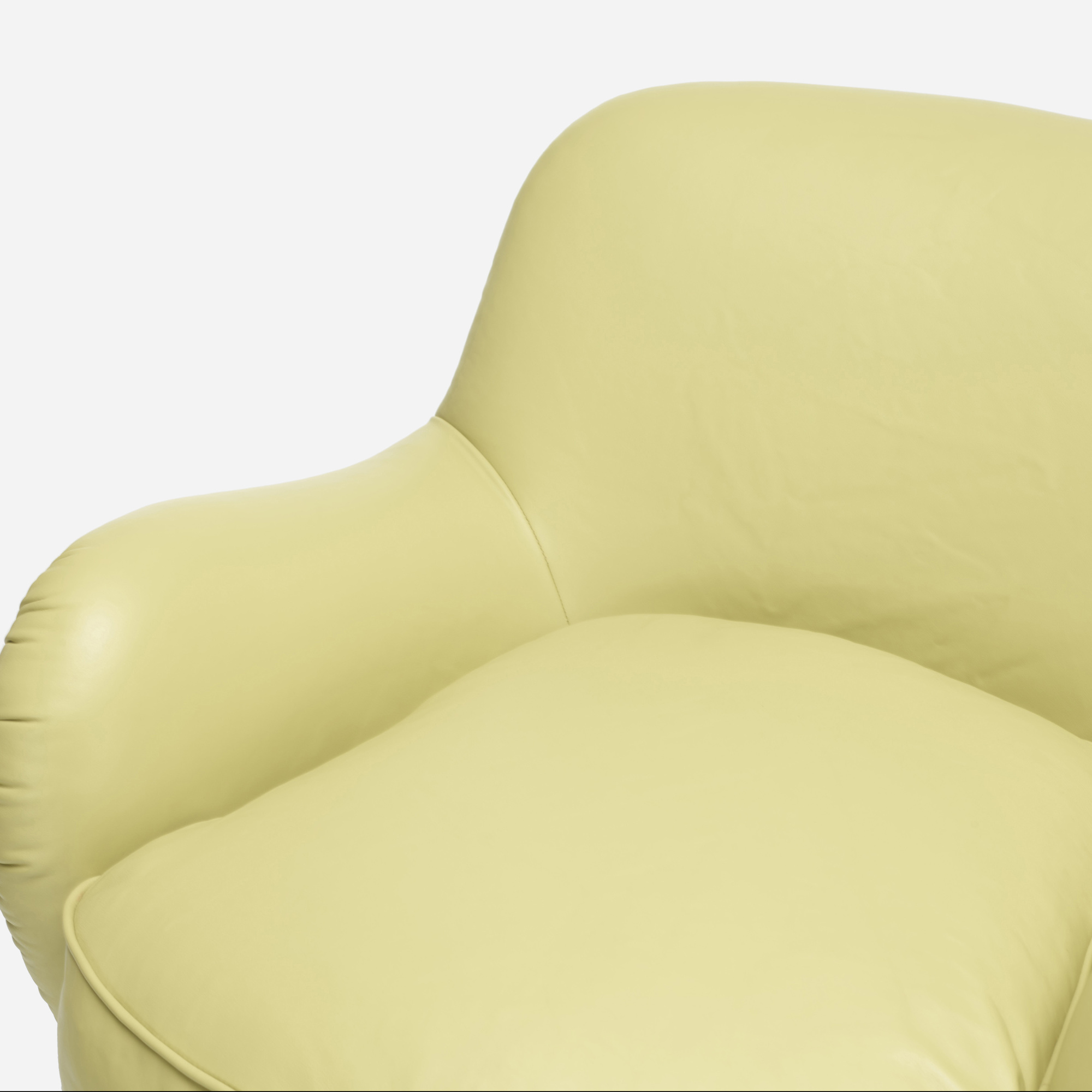 361: Vladimir Kagan / Barrel lounge chairs model 100A, pair (2 of 2)