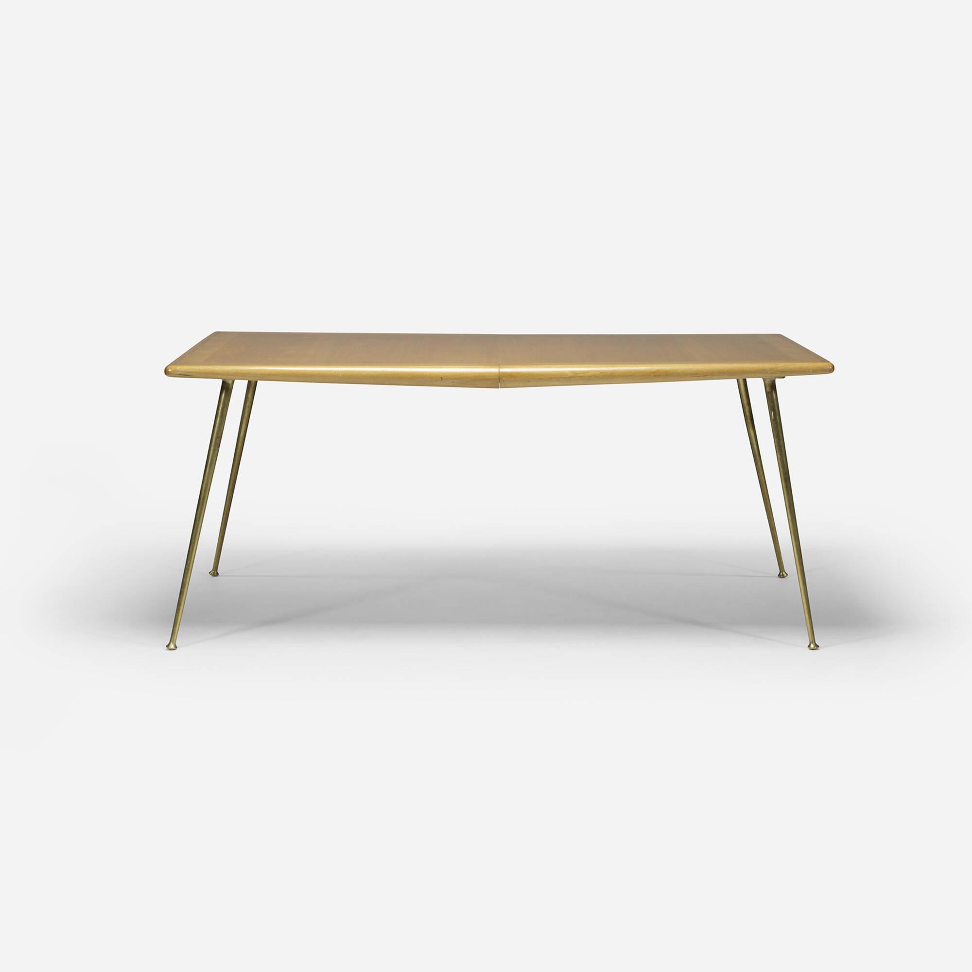 361 t h robsjohn gibbings dining table model 1785 for Tinning table model