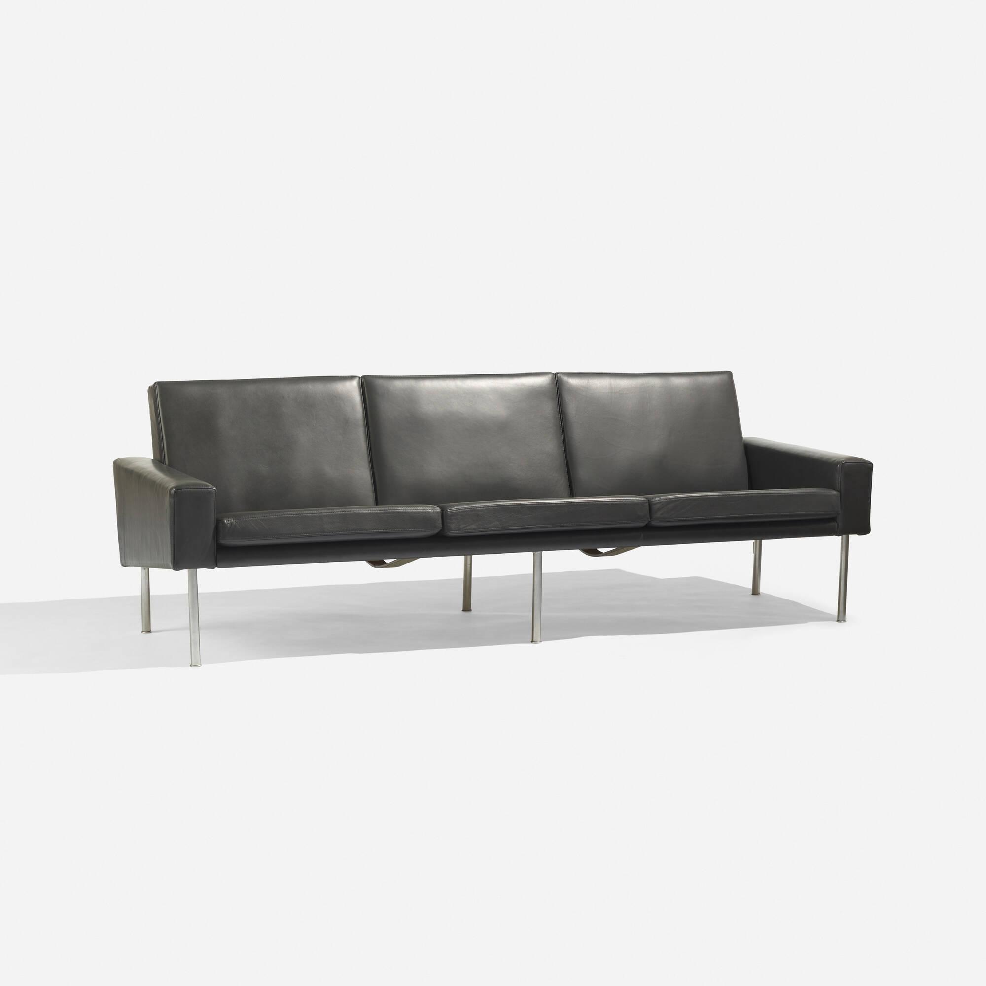 3 2 leather sofa deals - 363 Hans J Wegner Sofa Model Ap 34 3 2 Of 3