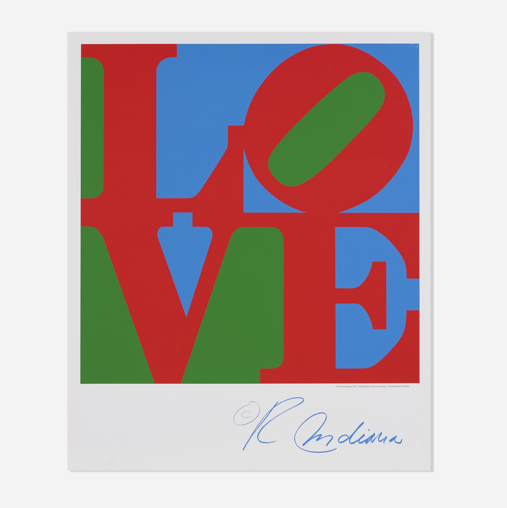 365: Robert Indiana / Sky Love poster (1 of 1)