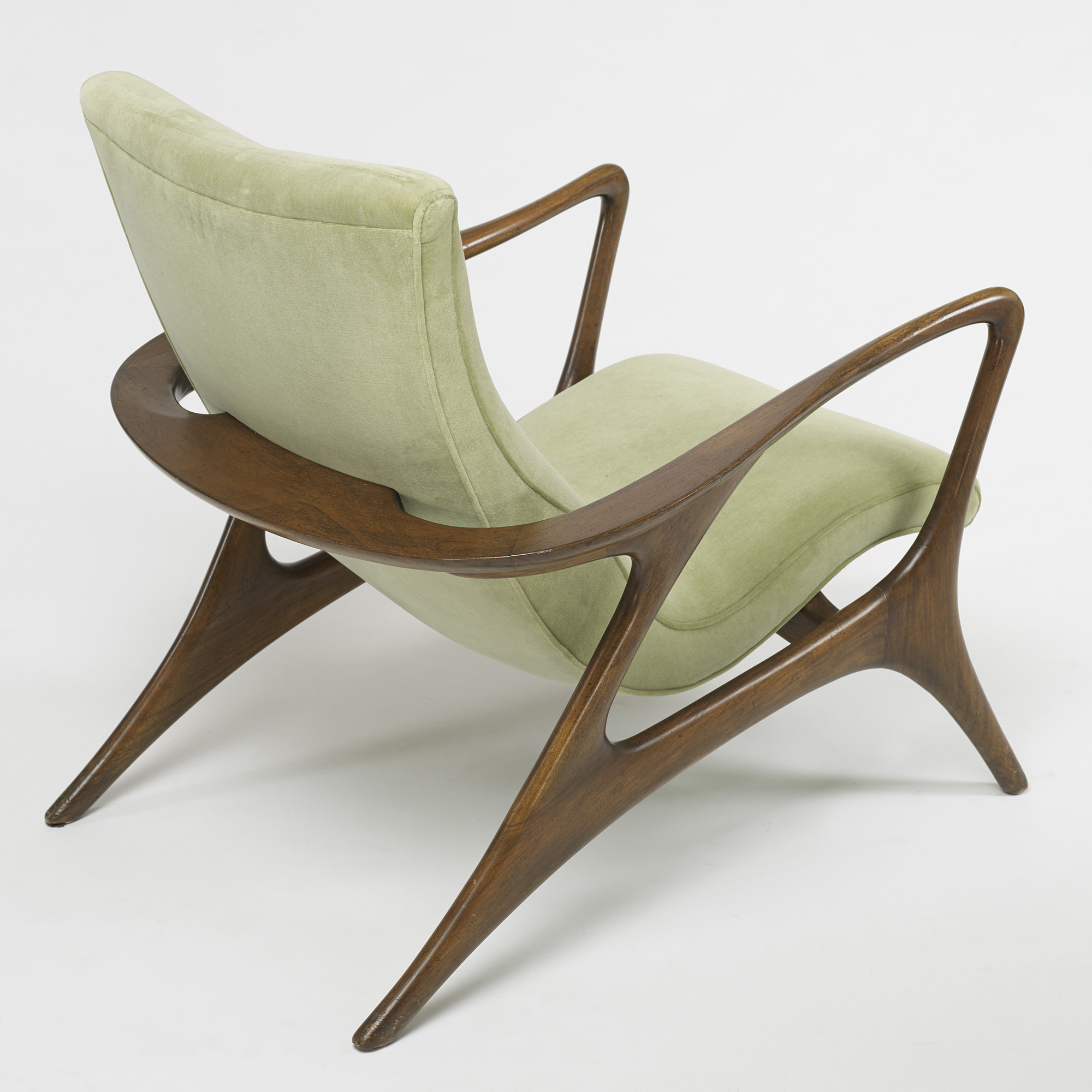 Merveilleux ... 365: Vladimir Kagan / Contour Lounge Chairs, Pair (4 Of 5)