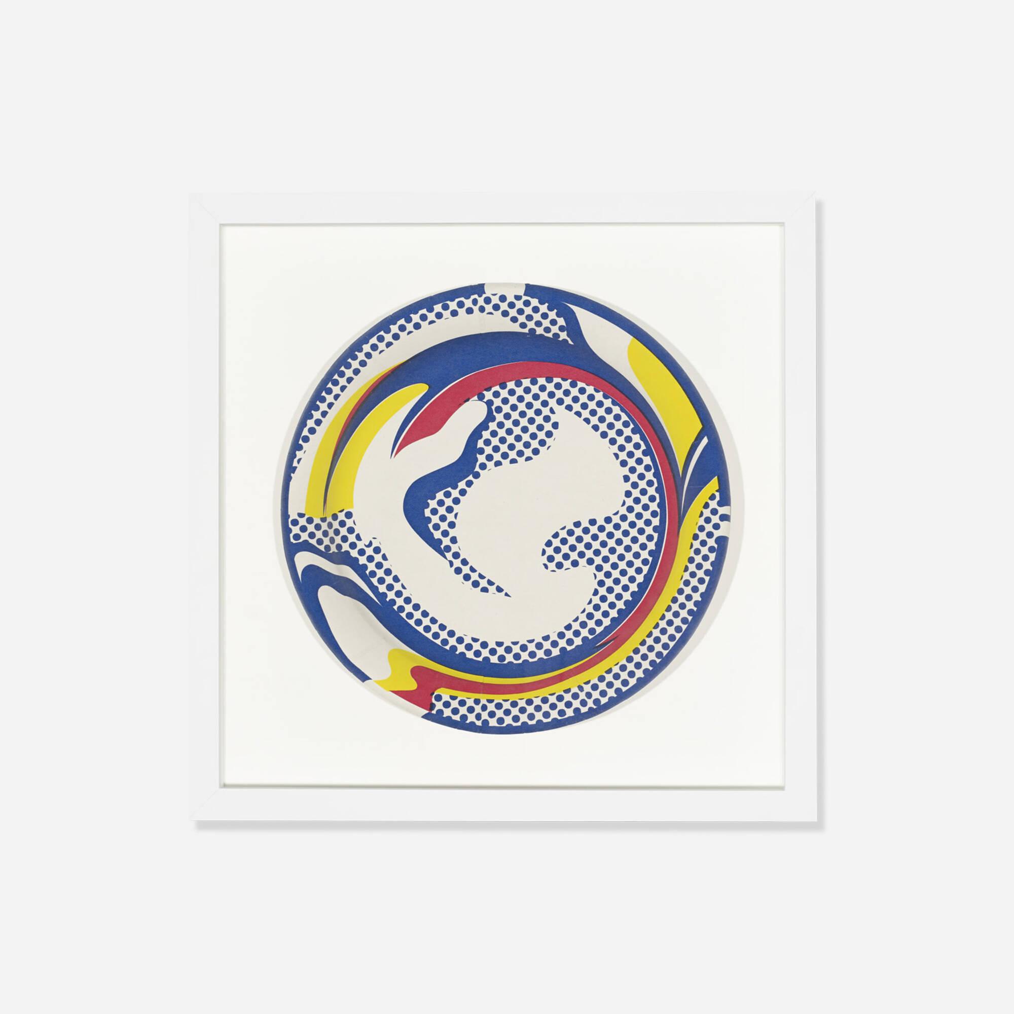 367: Roy Lichtenstein / Paper Plate (1 of 1)