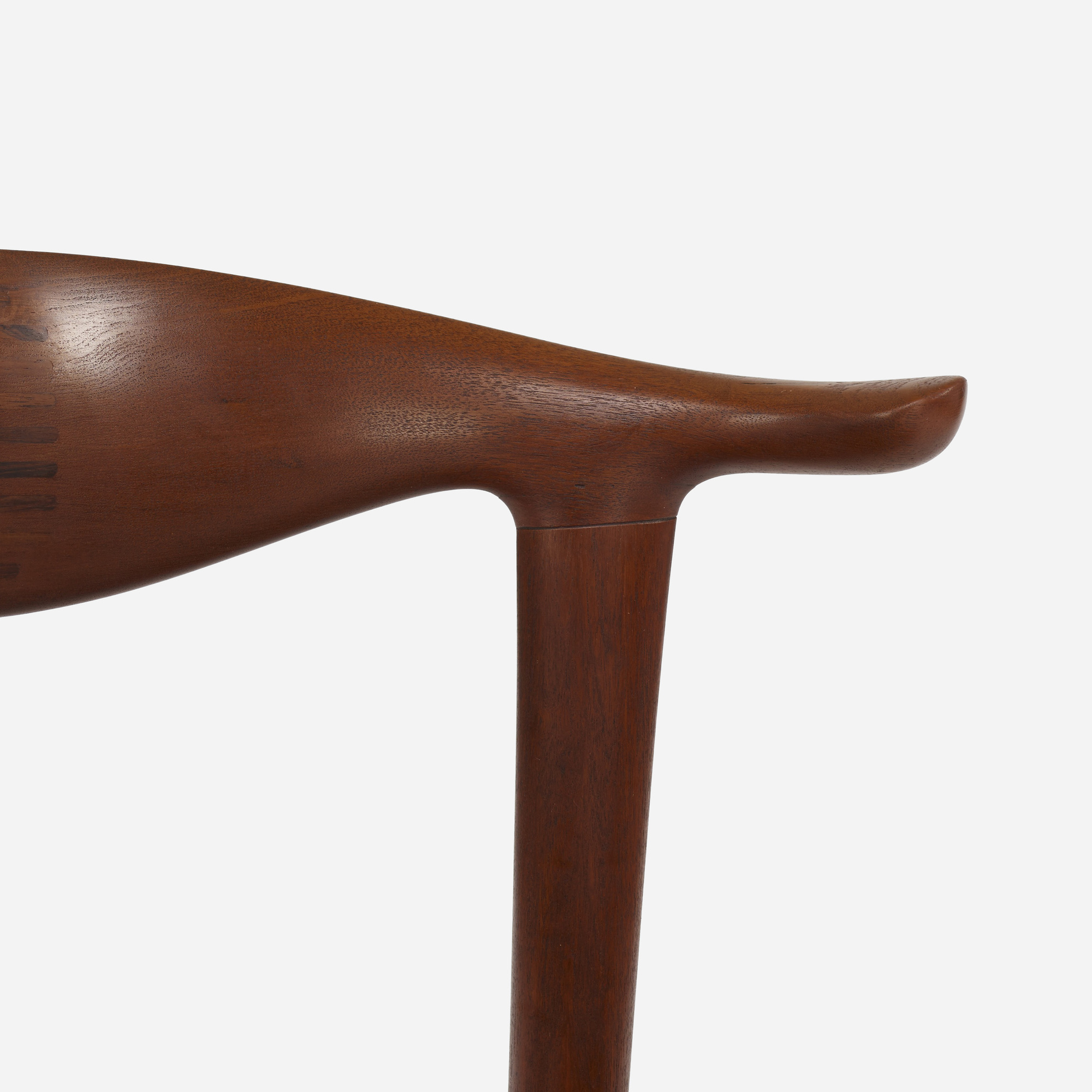367: Hans J. Wegner / Cow Horn chairs, set of eight (6 of 7)