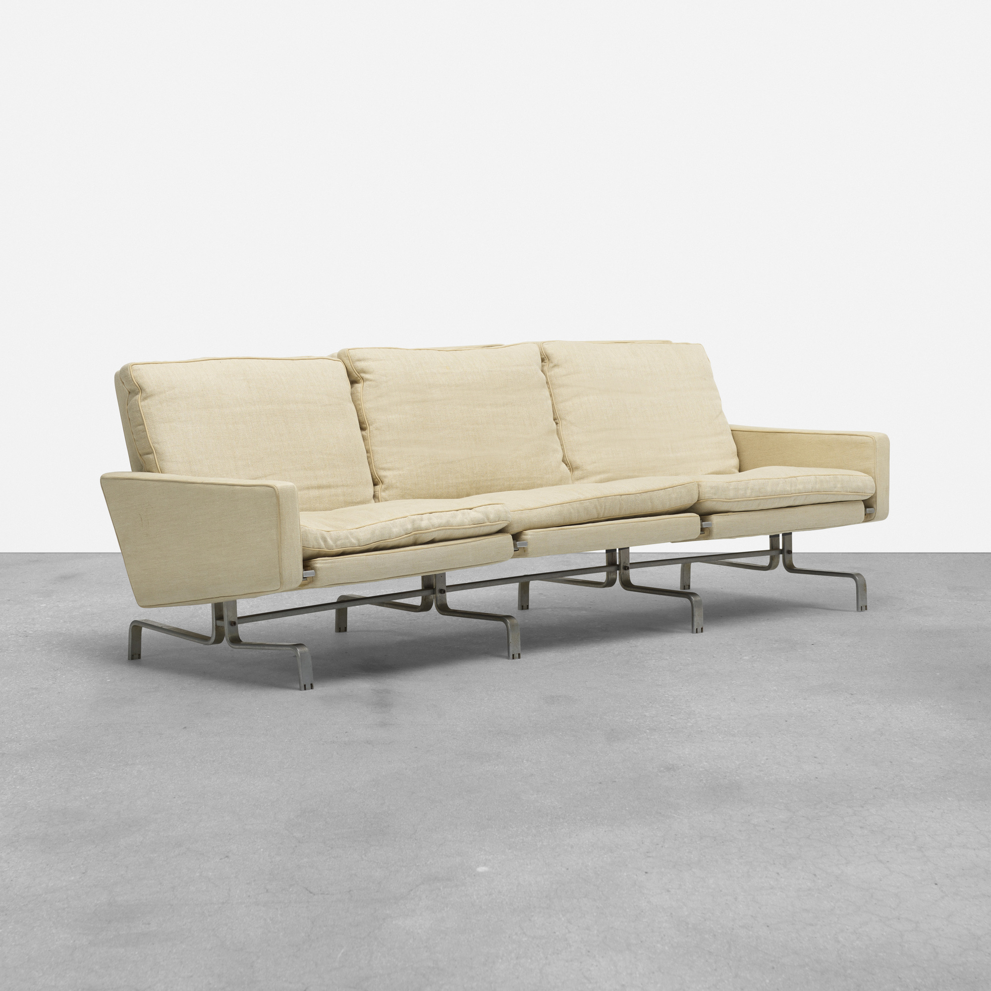 368 Poul Kjaerholm Pk 31 3 Sofa 1 Of 4