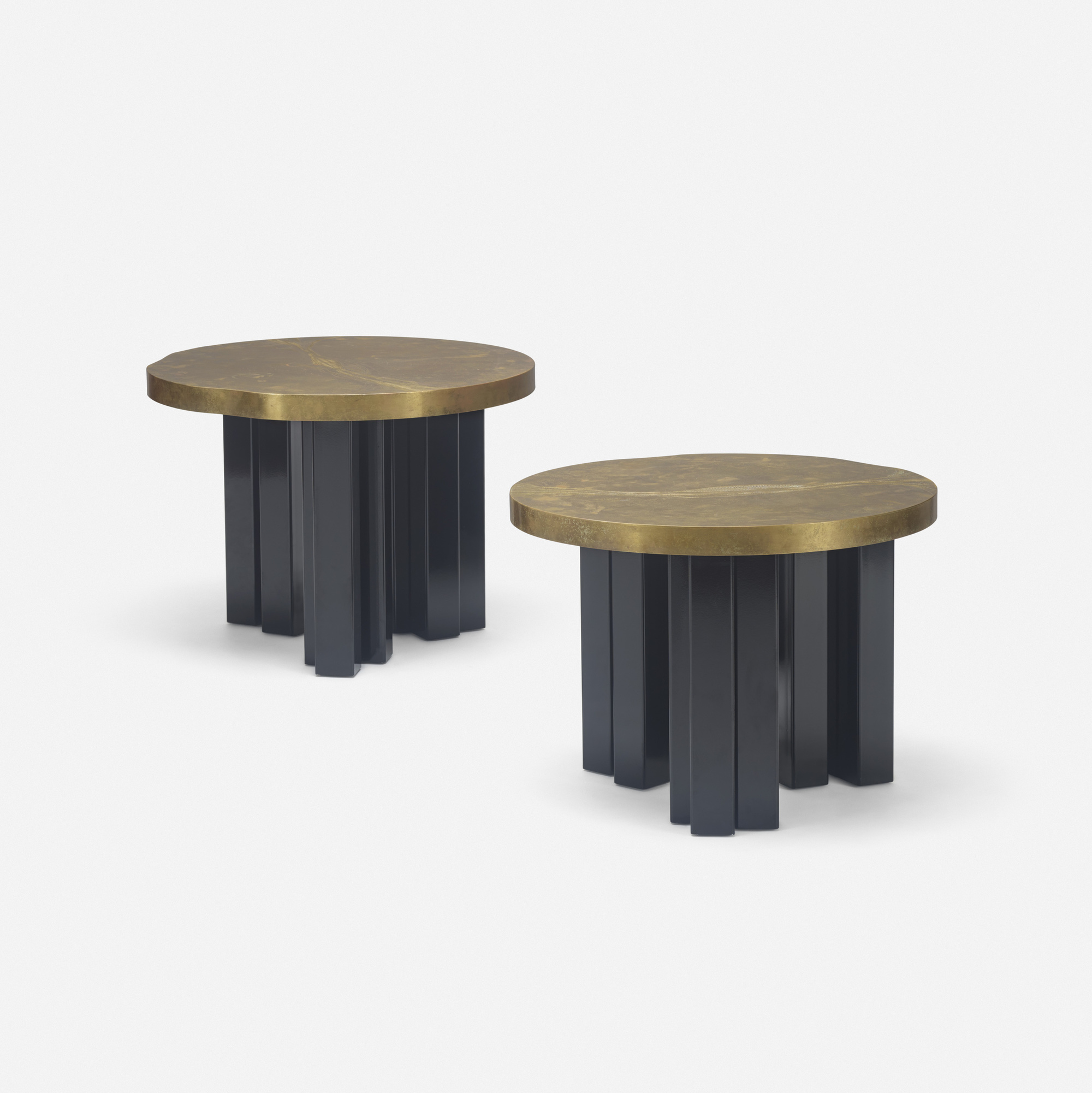 368: Christian Krekels / occasional table, pair (1 of 2)