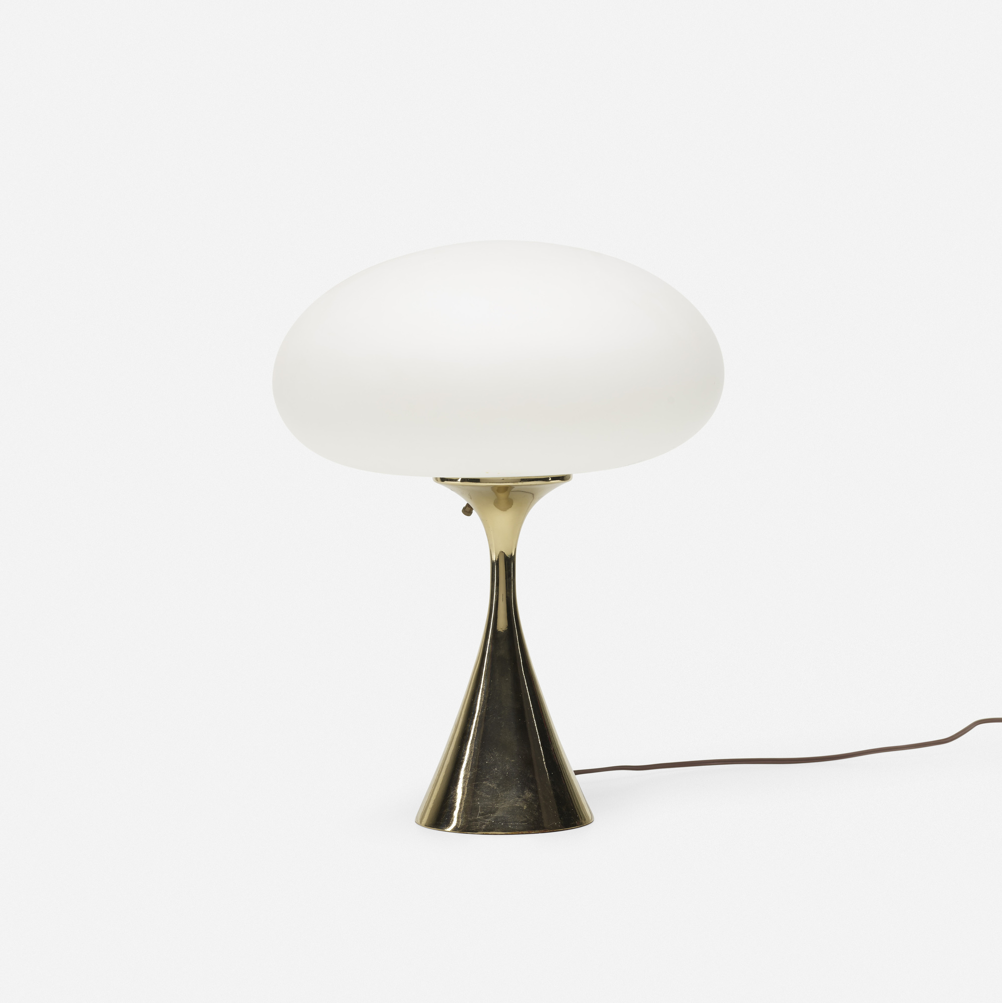 368: Laurel Lamp Co. / Mushroom Table Lamp (1 Of 1)