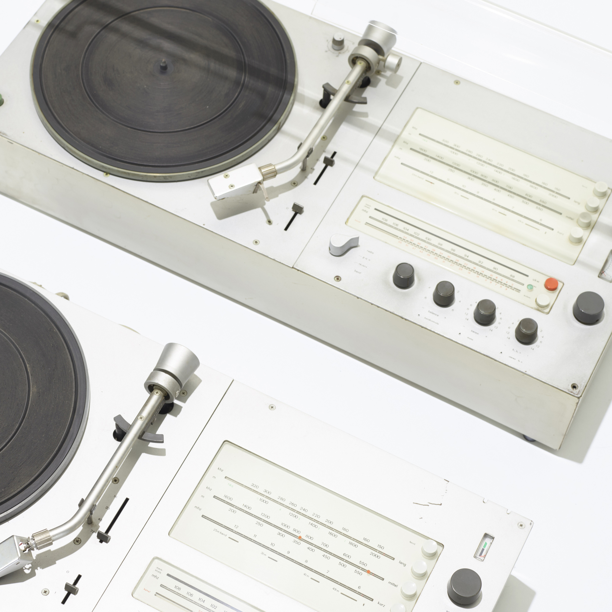 369: Dieter Rams / Audio 1 Radio-Phonographs with speakers, pair (2 of 2)
