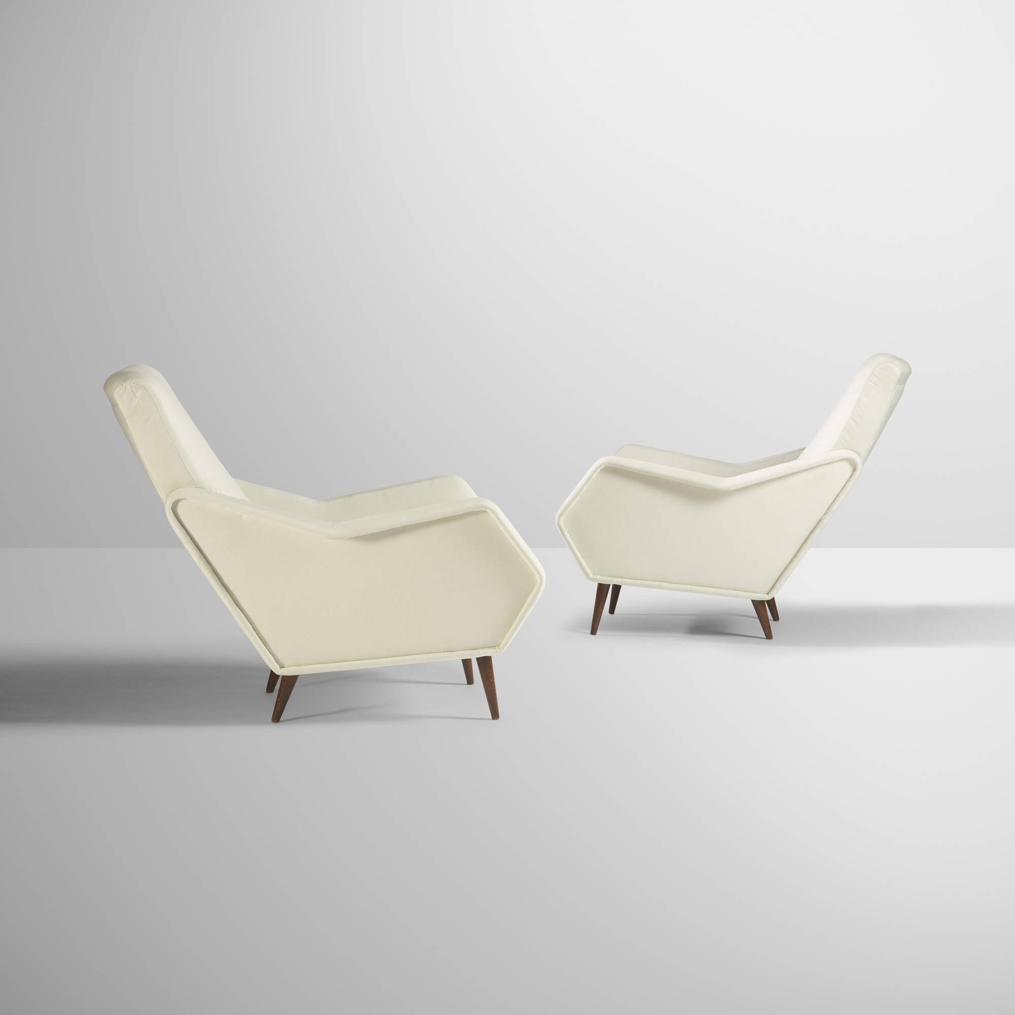 36: Gio Ponti / Rare lounge chairs, pair (2 of 5)