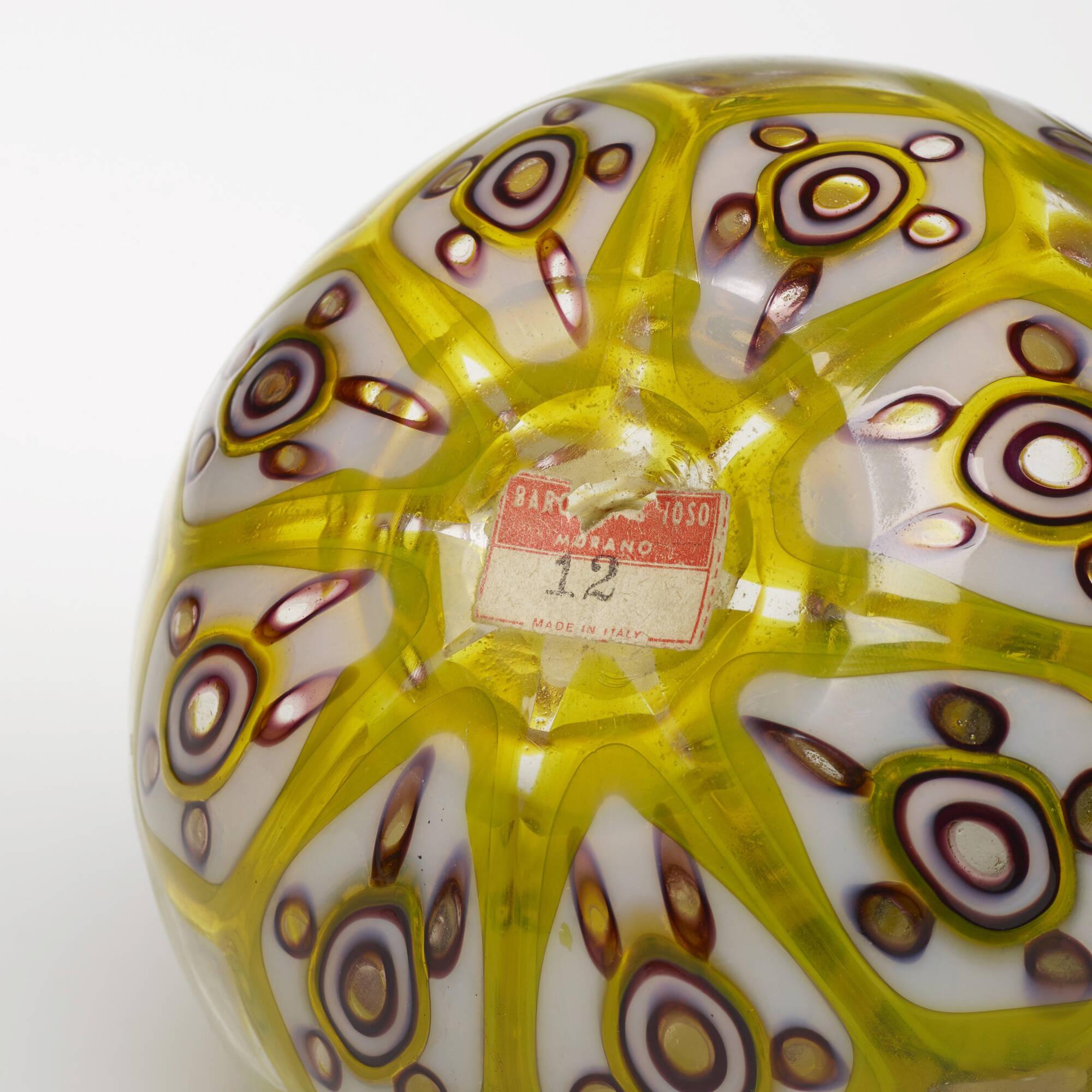 36: Ercole Barovier / Rare Tessere Policrome vase (4 of 4)