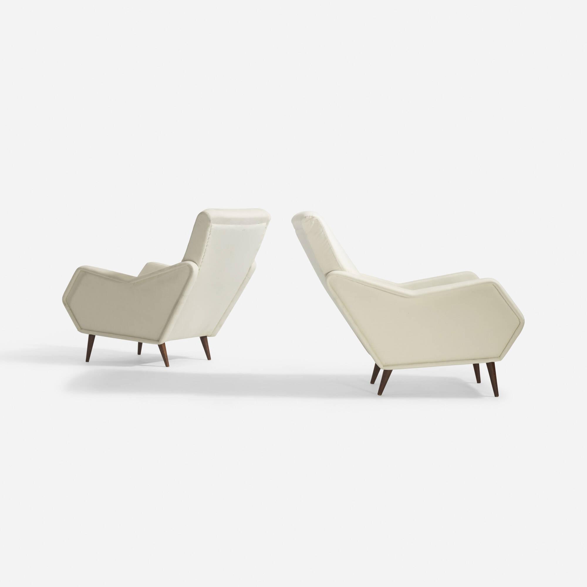 36: Gio Ponti / Rare lounge chairs, pair (3 of 5)