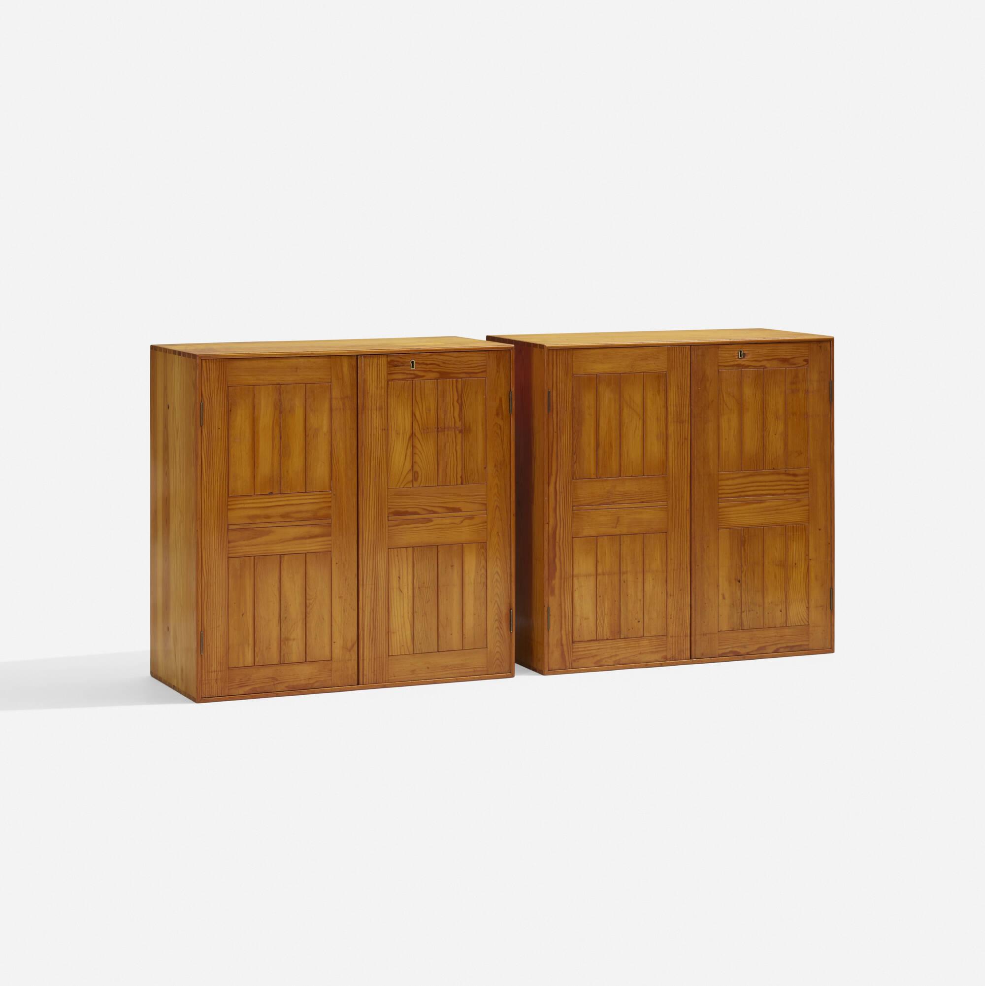 370: Mogens Koch / Cabinets, Pair (1 Of 3)