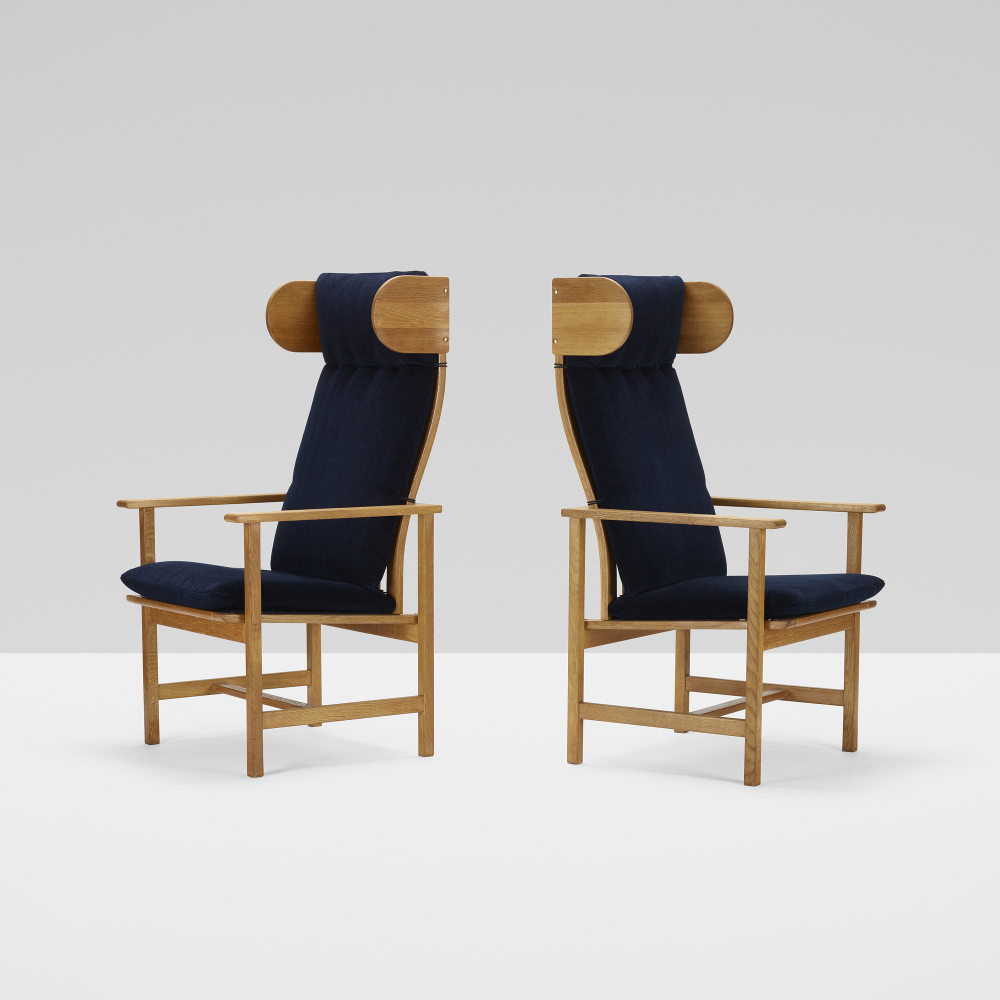 370: Børge Mogensen / armchairs, pair (2 of 5)