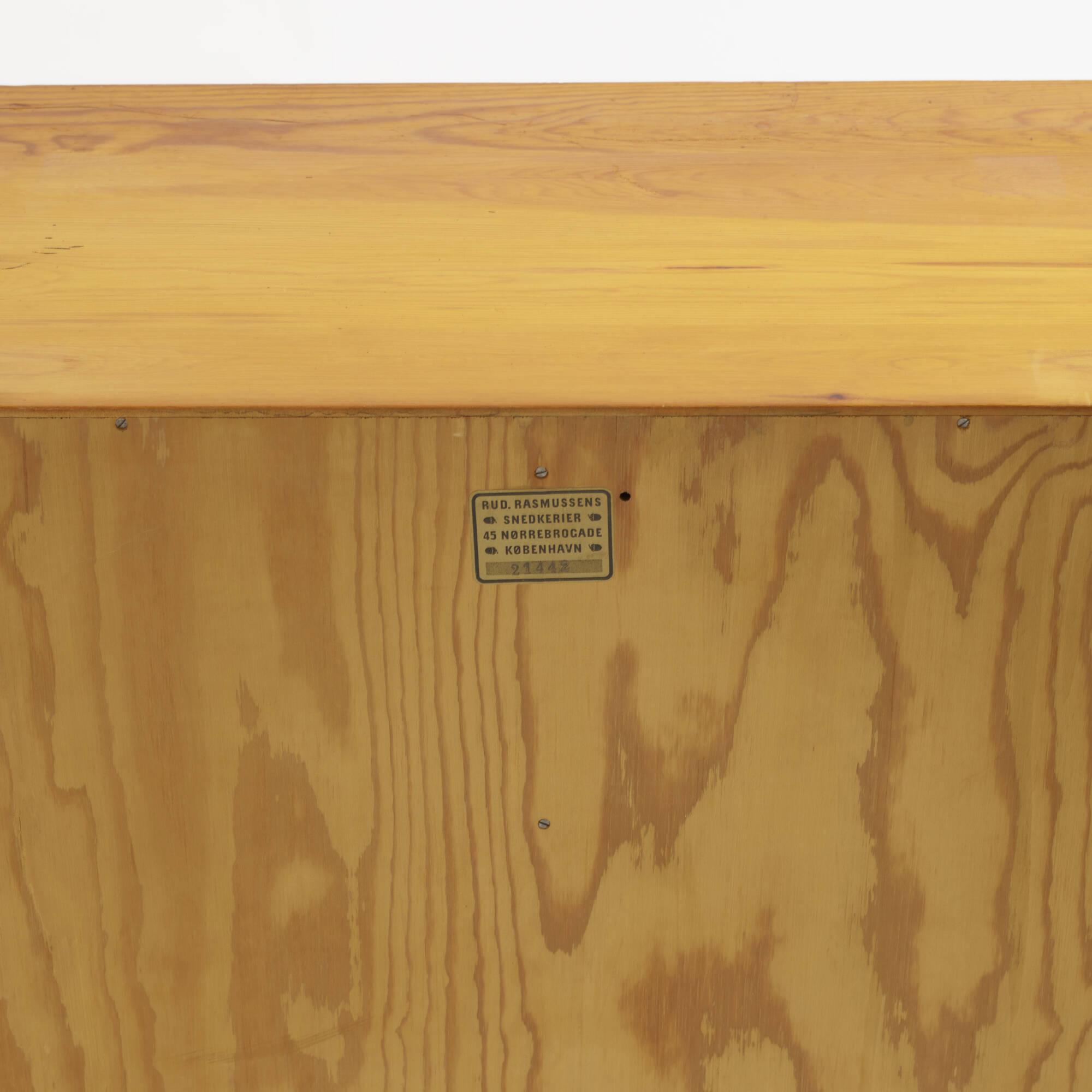 ... 370: Mogens Koch / Cabinets, Pair (3 Of 3)
