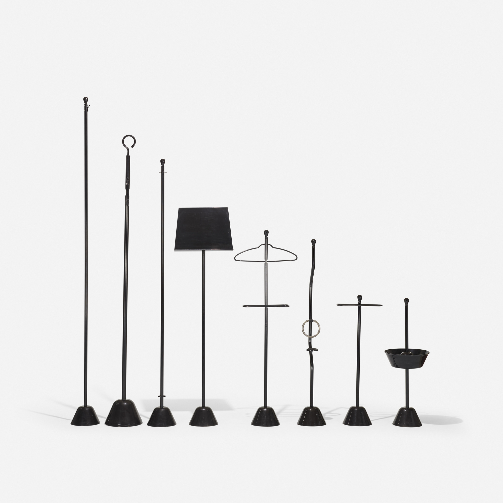 372: Achille and Pier Giacomo Castiglioni / collection of accessories from the Servi series (1 of 2)
