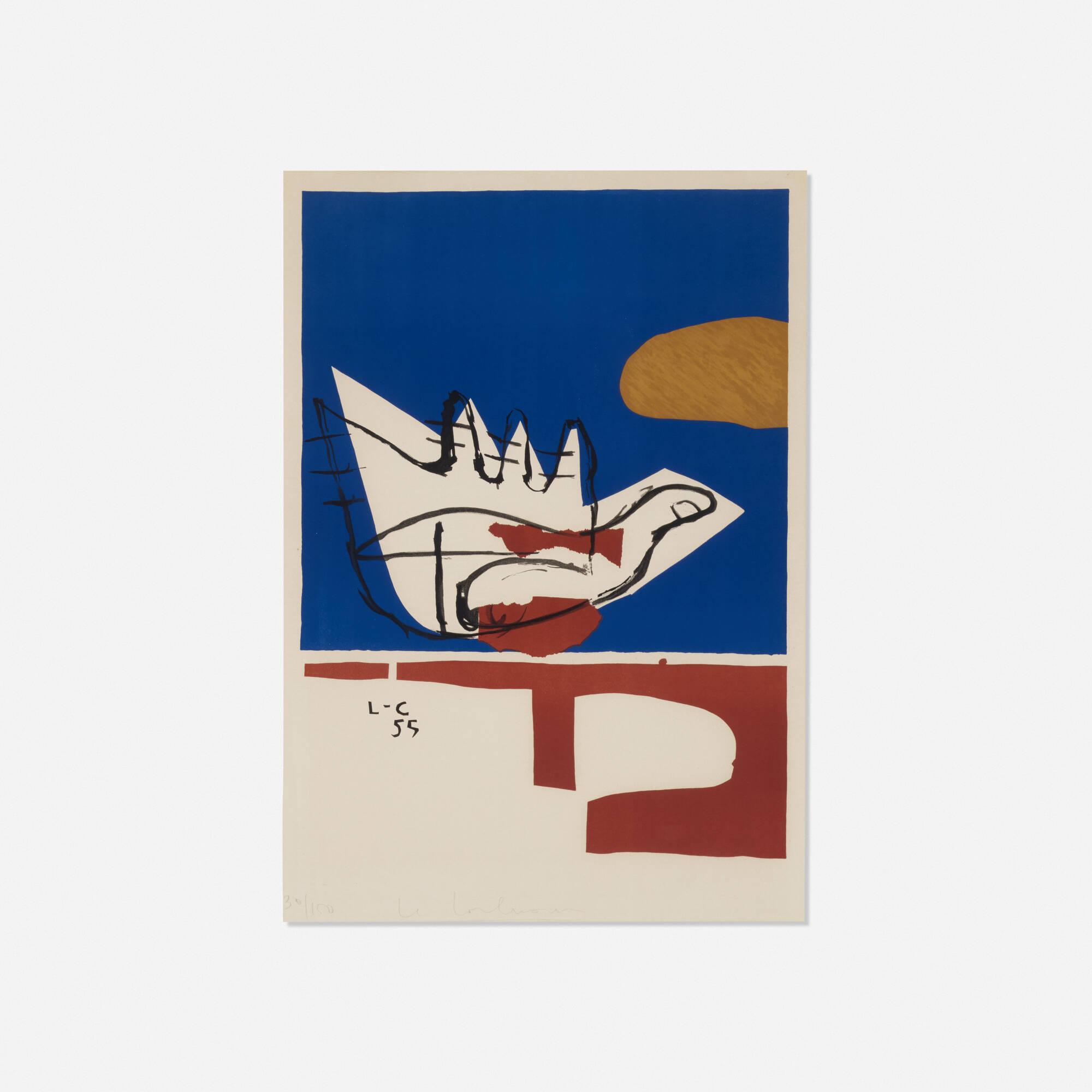 Mainline Art And Design : Le corbusier main ouverte