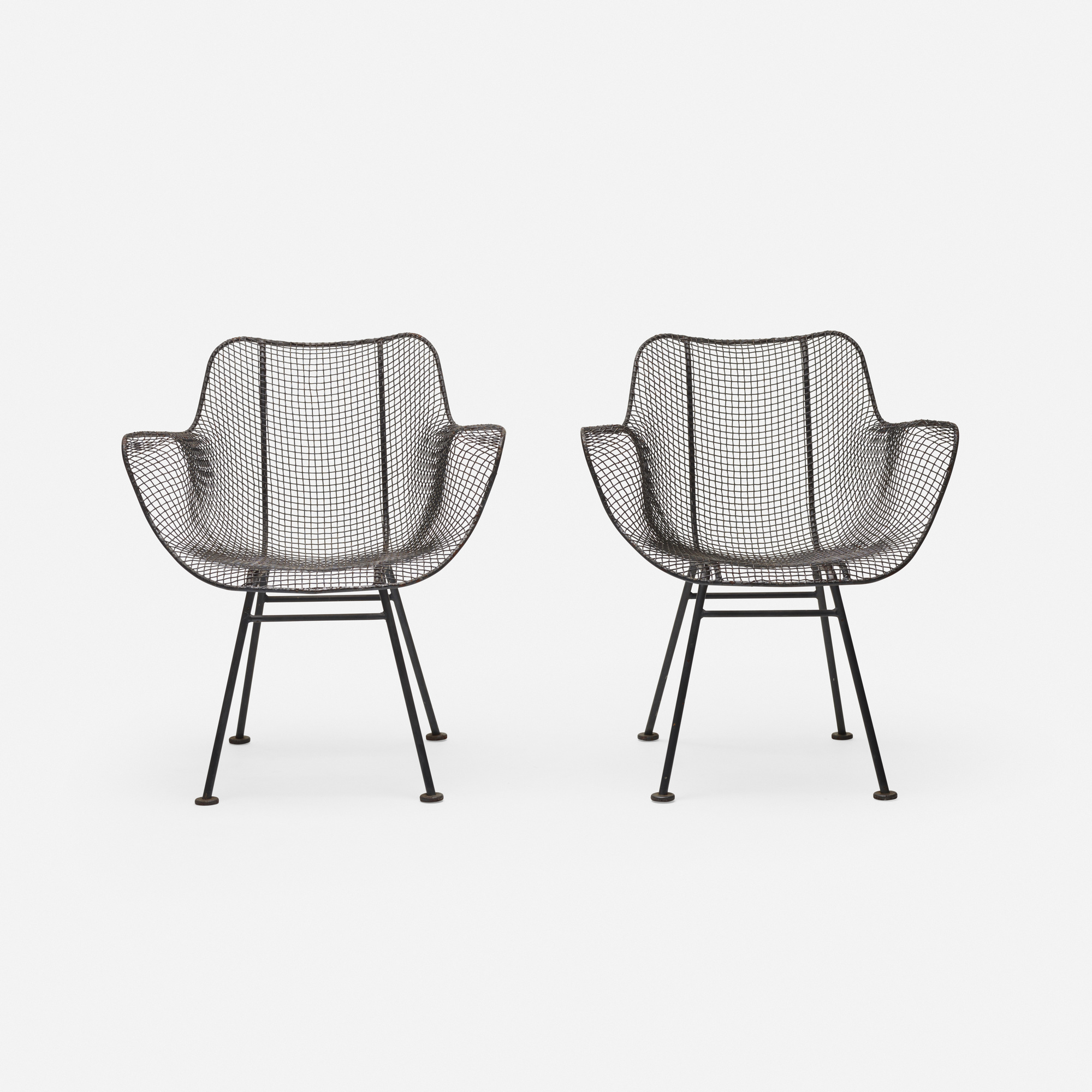 375: Russell Woodard / Sculptura armchairs, pair (2 of 2)