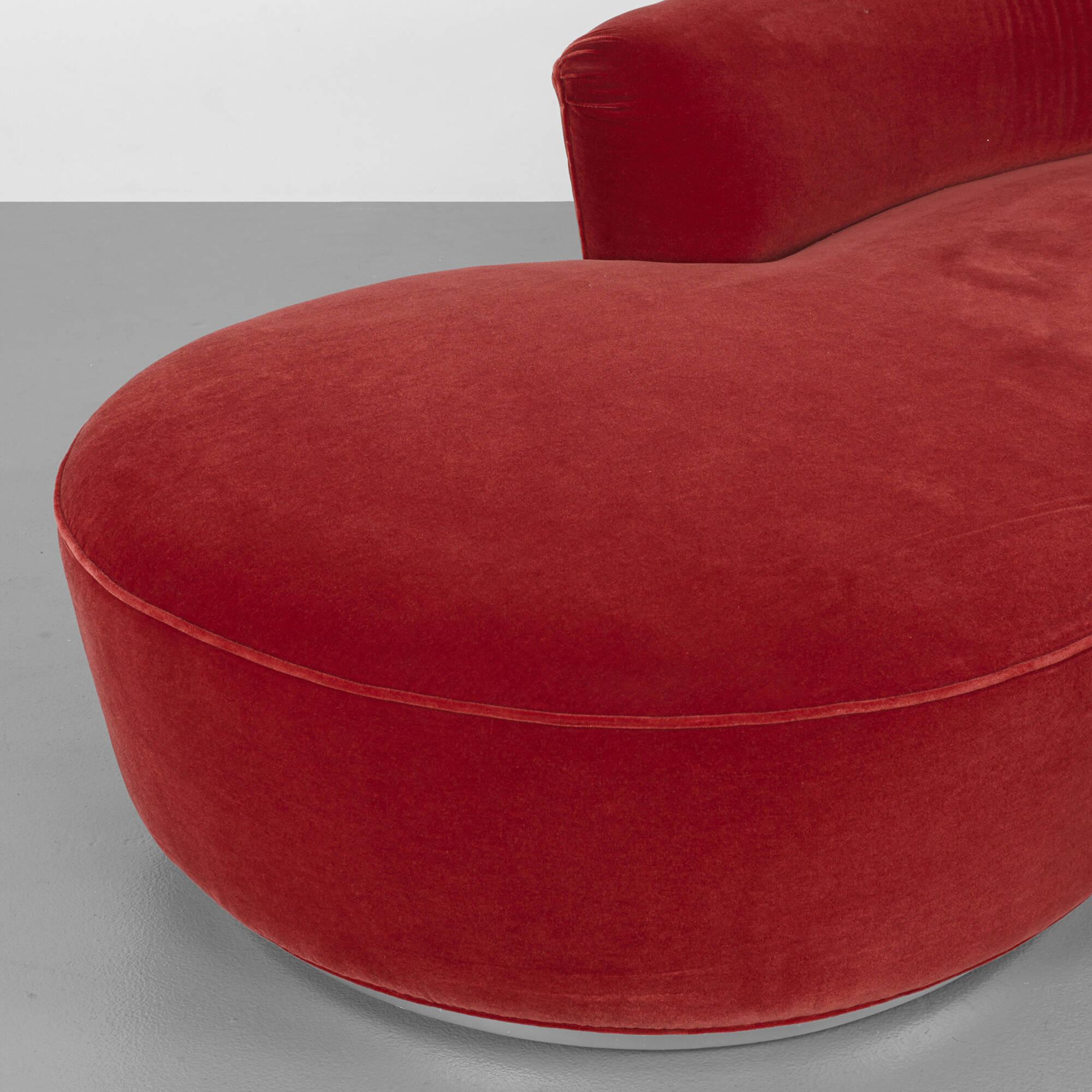 376 Vladimir Kagan sofa Design 12 June 2014 Auctions
