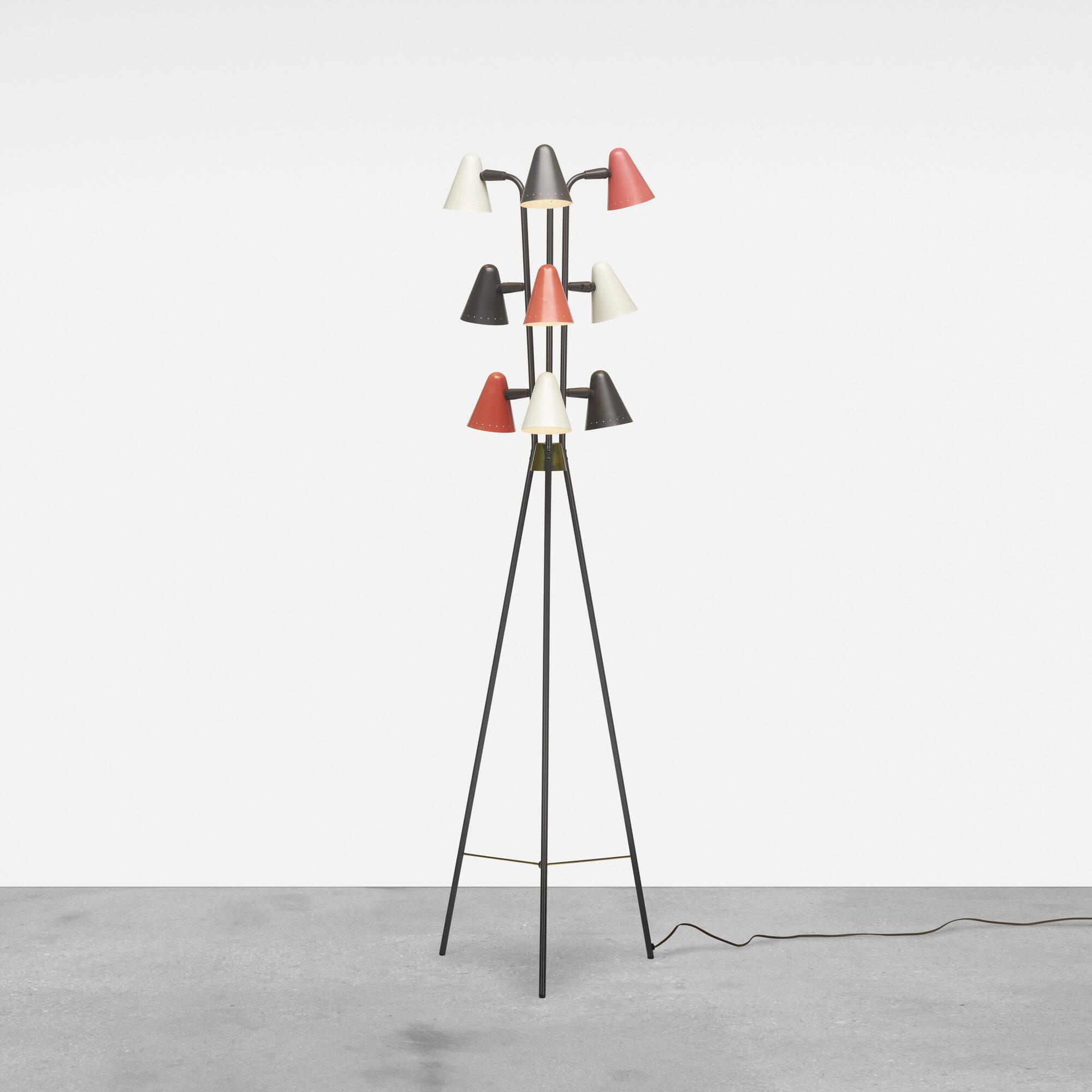 377 gerald thurston floor lamp design 8 june 2017 auctions 377 gerald thurston floor lamp 1 of 2 geotapseo Image collections