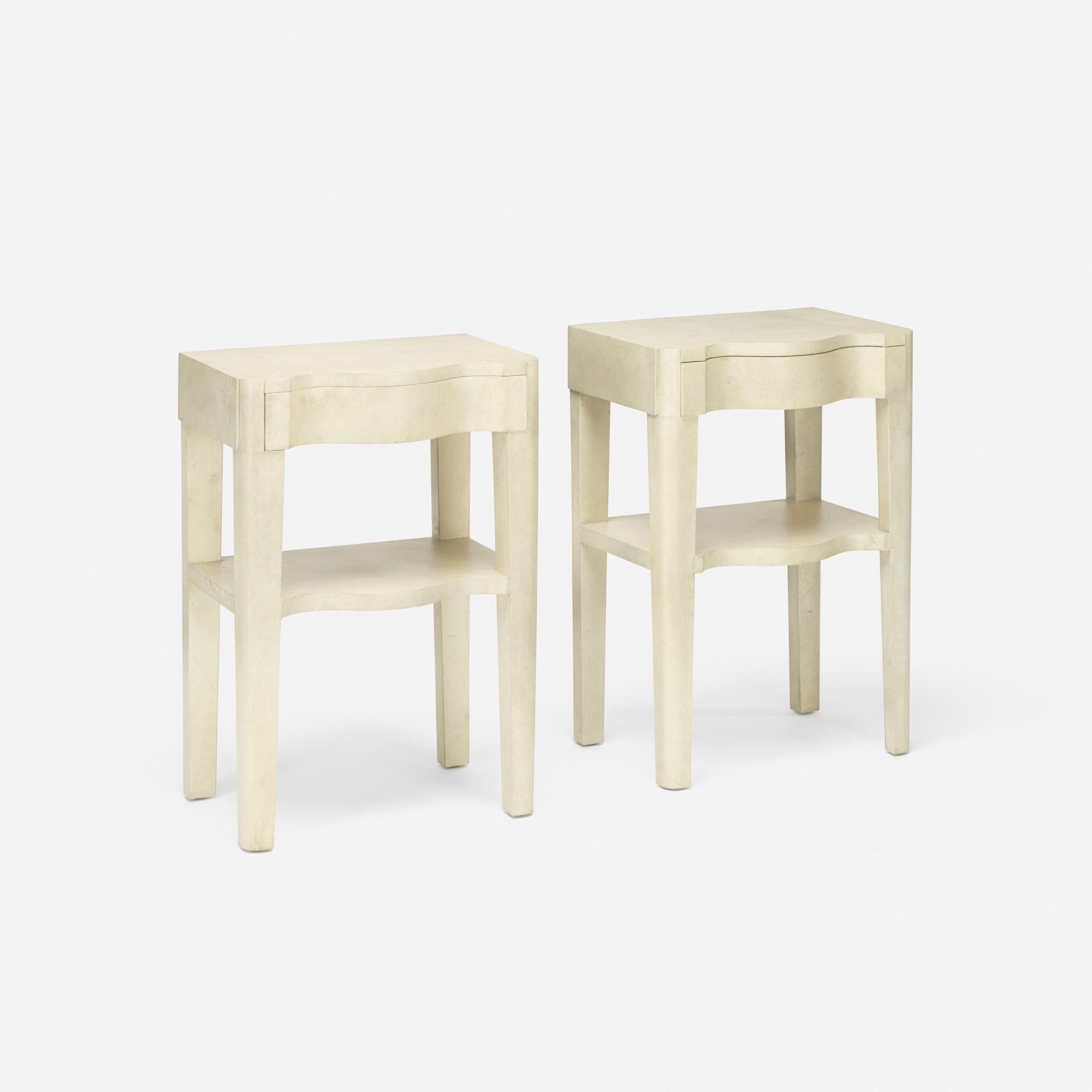 377: Samuel Marx / nightstands, pair (1 of 2)