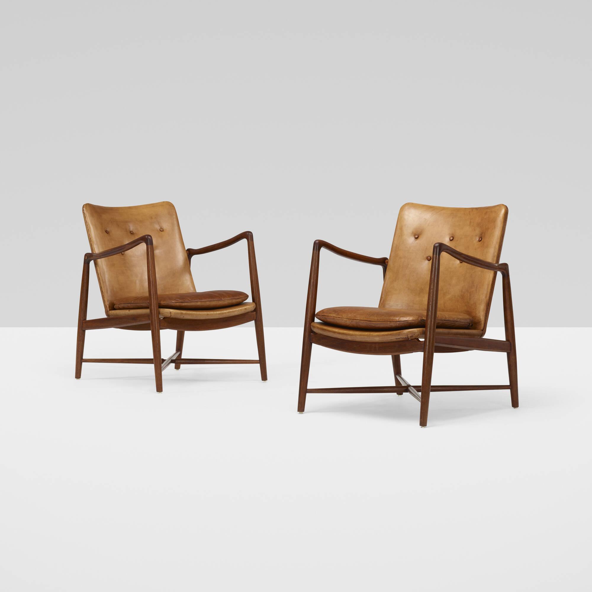 377: Finn Juhl / armchairs, pair (3 of 5)