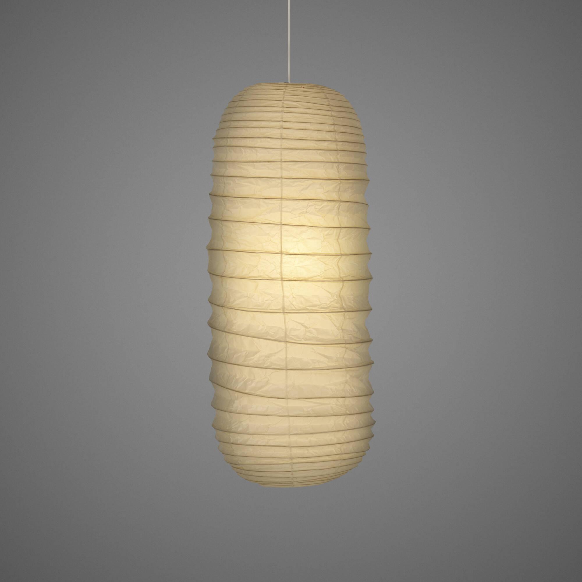 378: ISAMU NOGUCHI, Akari Hanging Lamp, Model L5