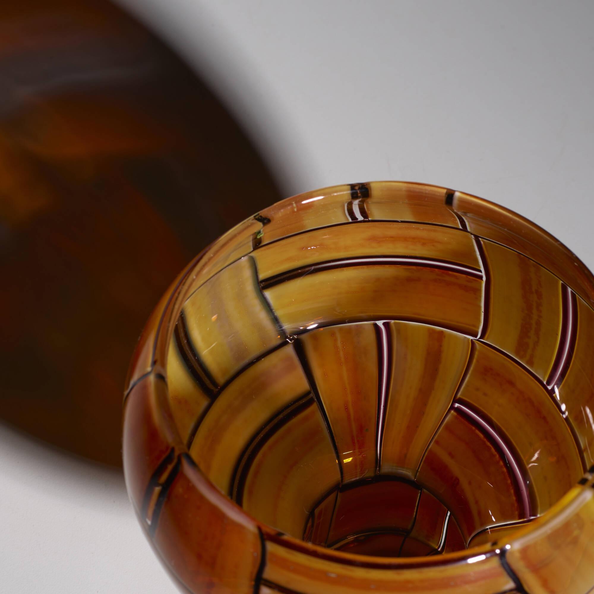 37: Ercole Barovier / Tessere Ambra vase (4 of 5)