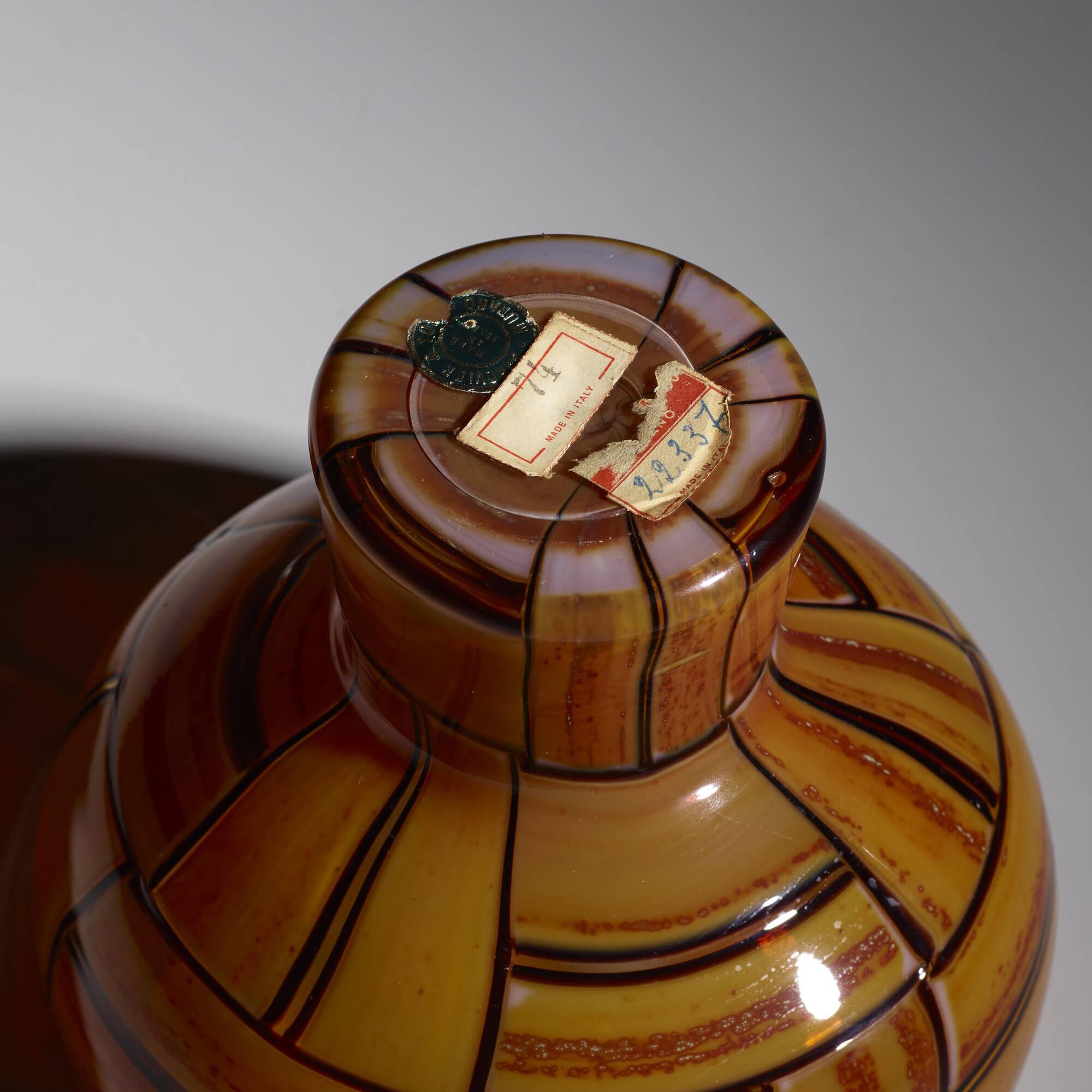 37: Ercole Barovier / Tessere Ambra vase (5 of 5)