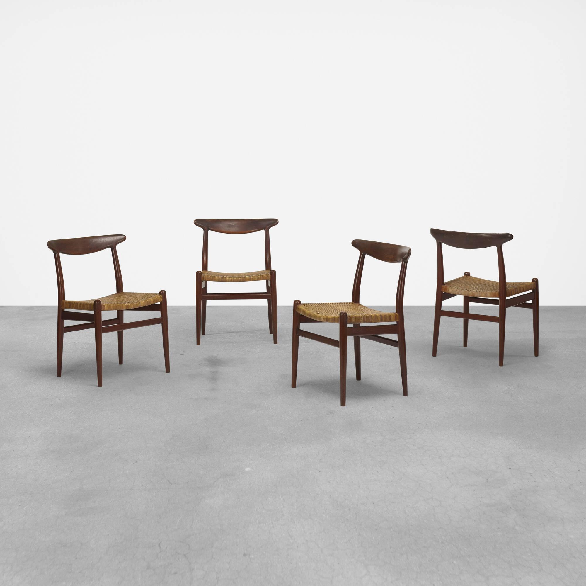 380: Hans J. Wegner / dining chairs, set of eight (3 of 5)