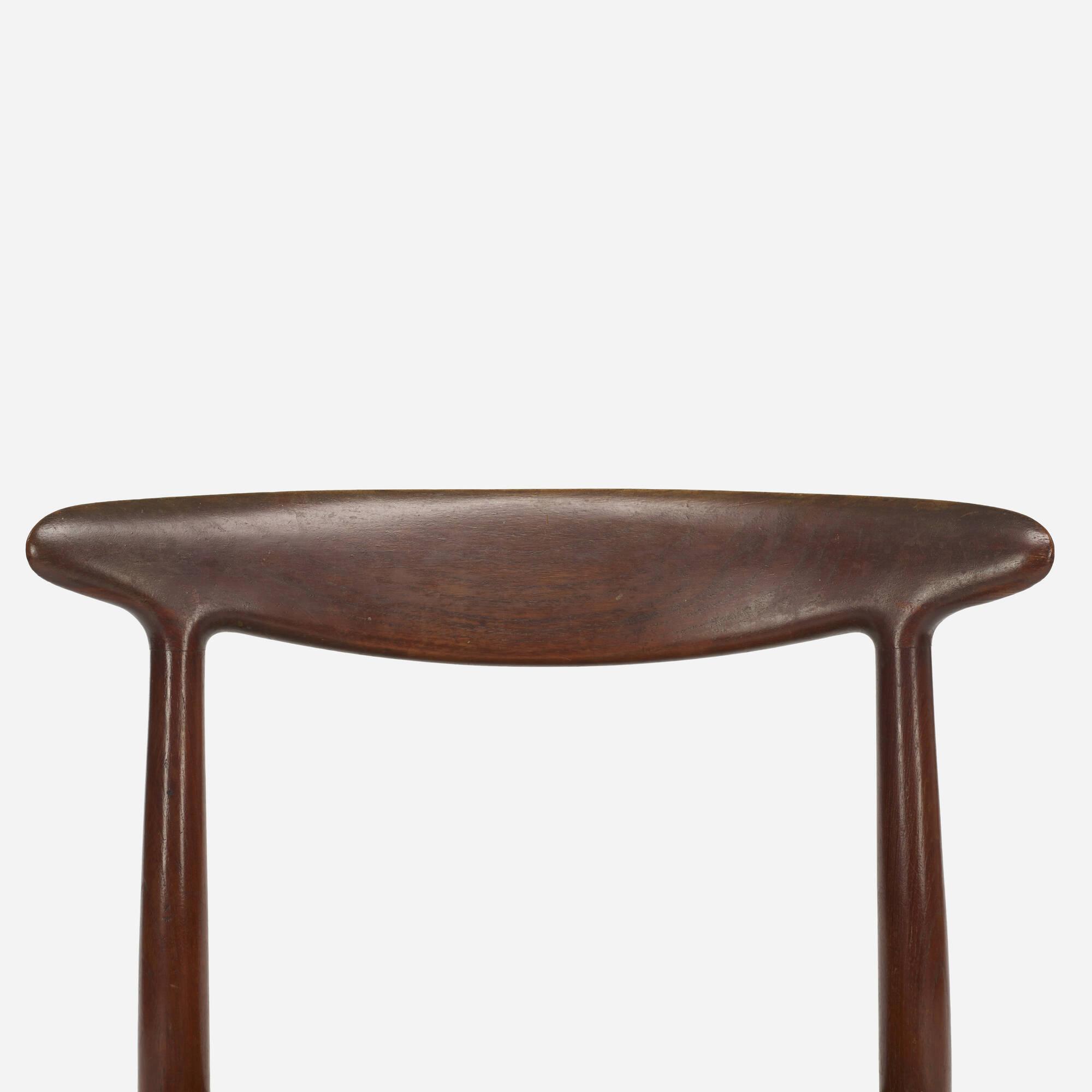 380: Hans J. Wegner / dining chairs, set of eight (4 of 5)