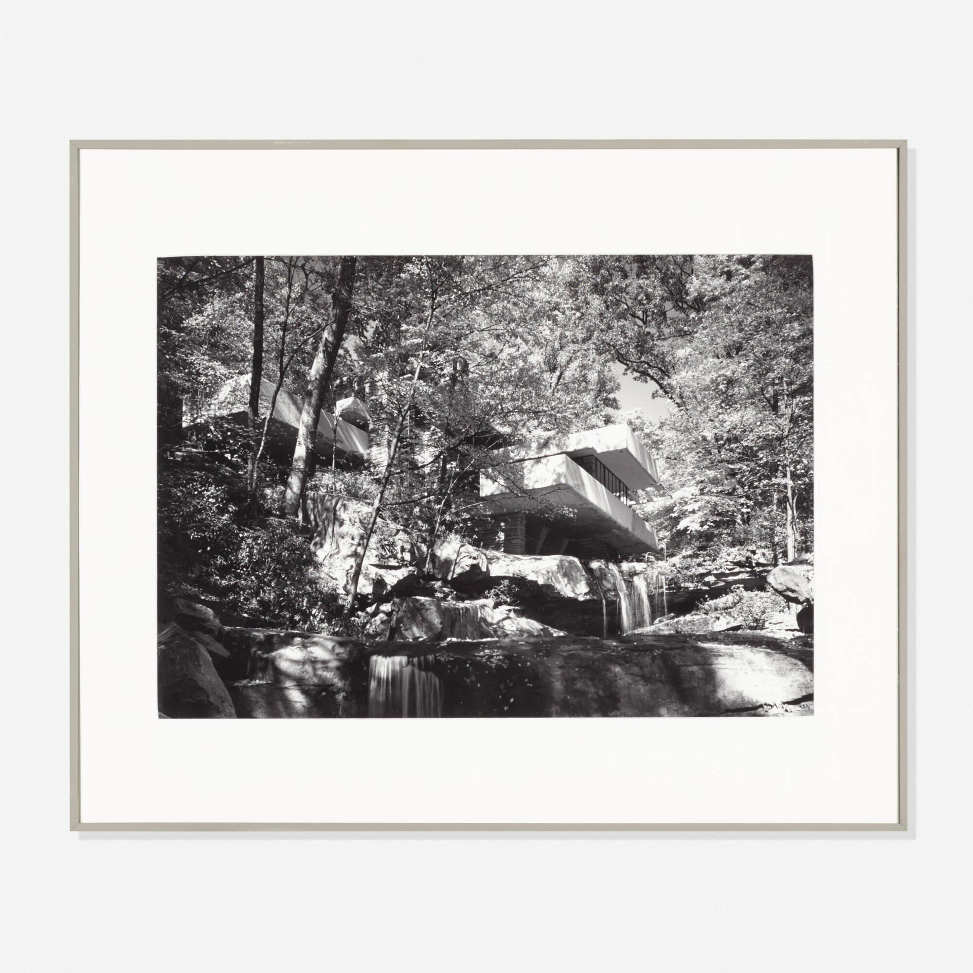 382: Ezra Stoller / Frank Lloyd Wright: Fallingwater, Bear Run, PA (1 of 1)