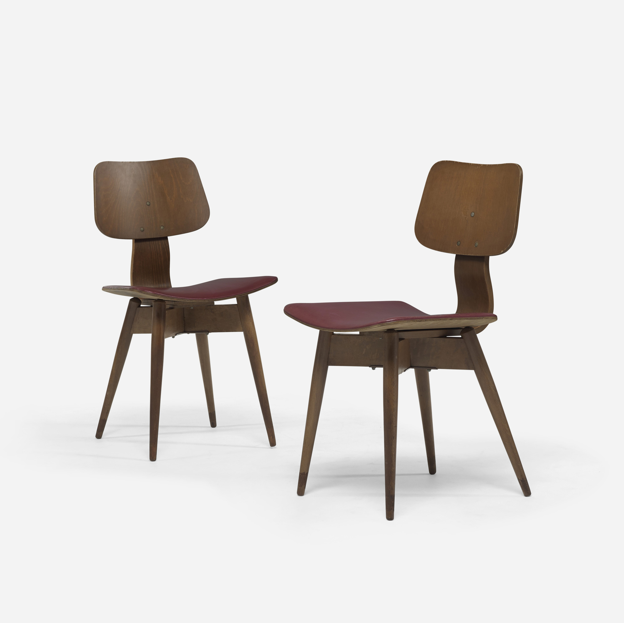 382: Tokukichi Kato / chairs, pair (1 of 3)