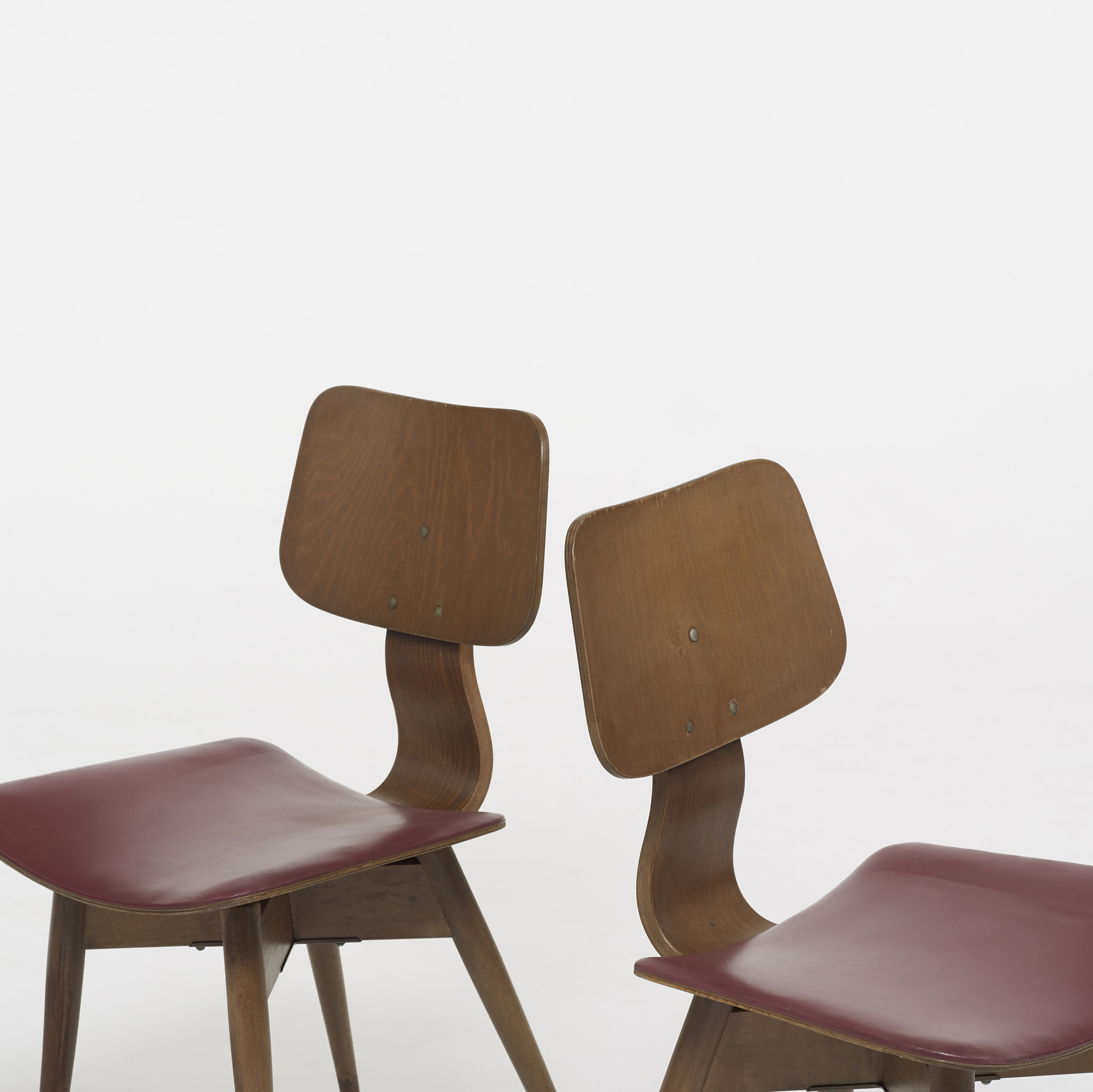 382: Tokukichi Kato / chairs, pair (2 of 3)