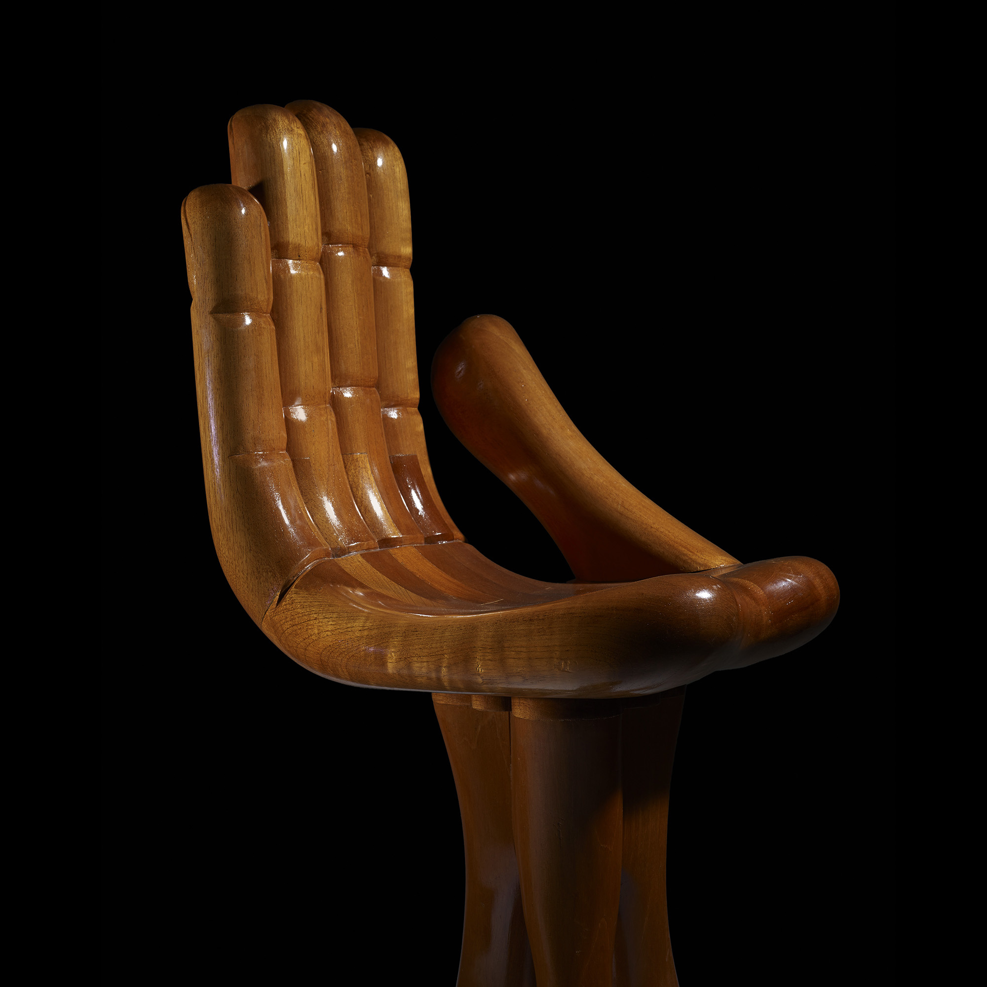 ... 382: Pedro Friedeberg / Hand Foot Chairs, Pair (3 Of 4)