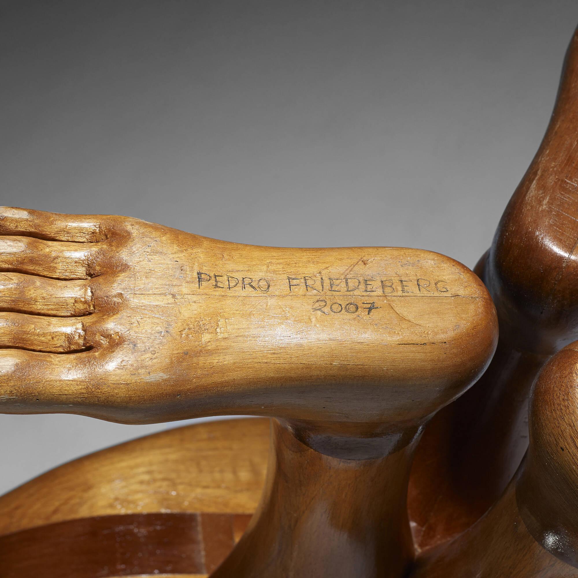 382: PEDRO FRIEDEBERG, Hand-Foot chairs, pair \u003c Design, 12 June ...