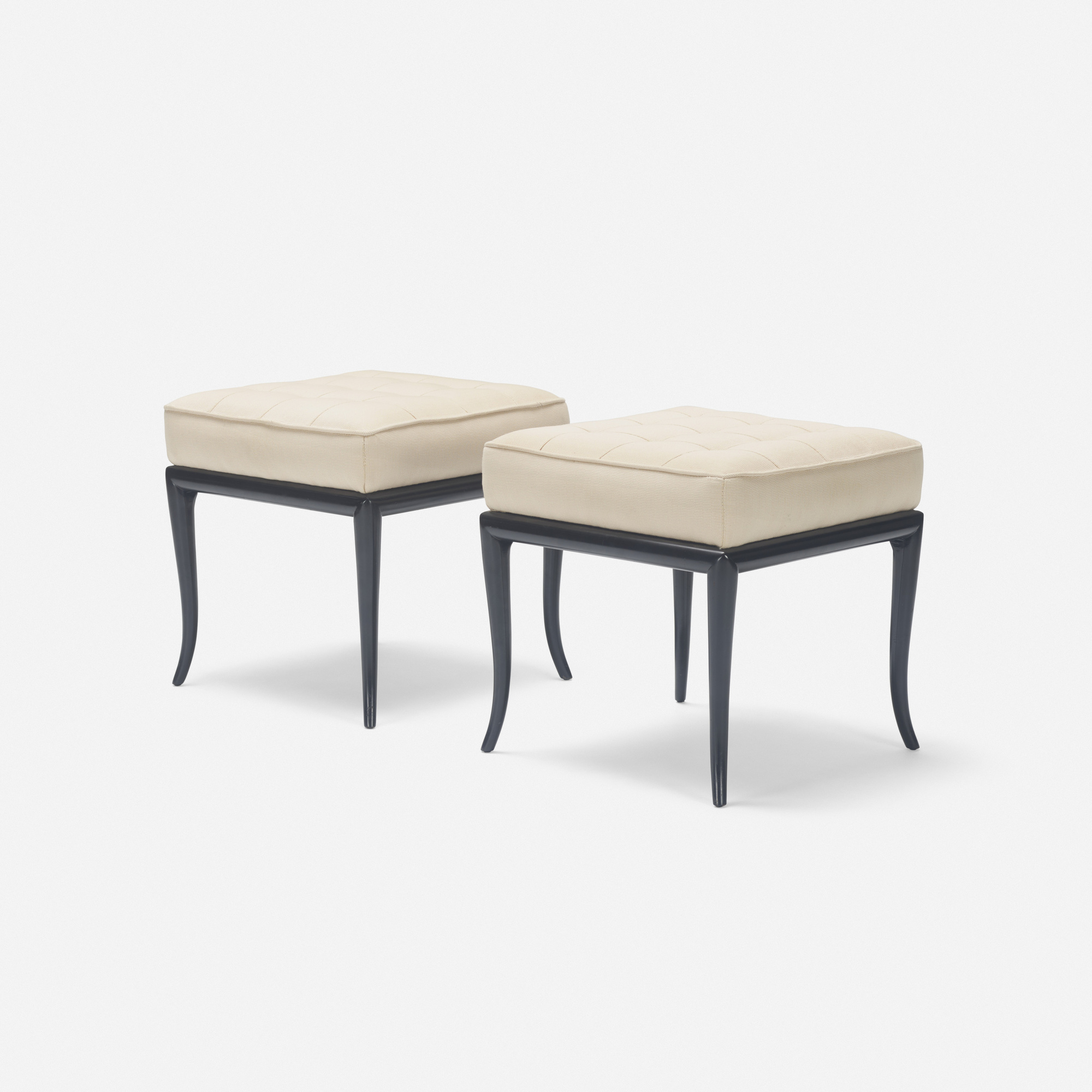 383: T.H. Robsjohn-Gibbings / benches, pair (1 of 2)