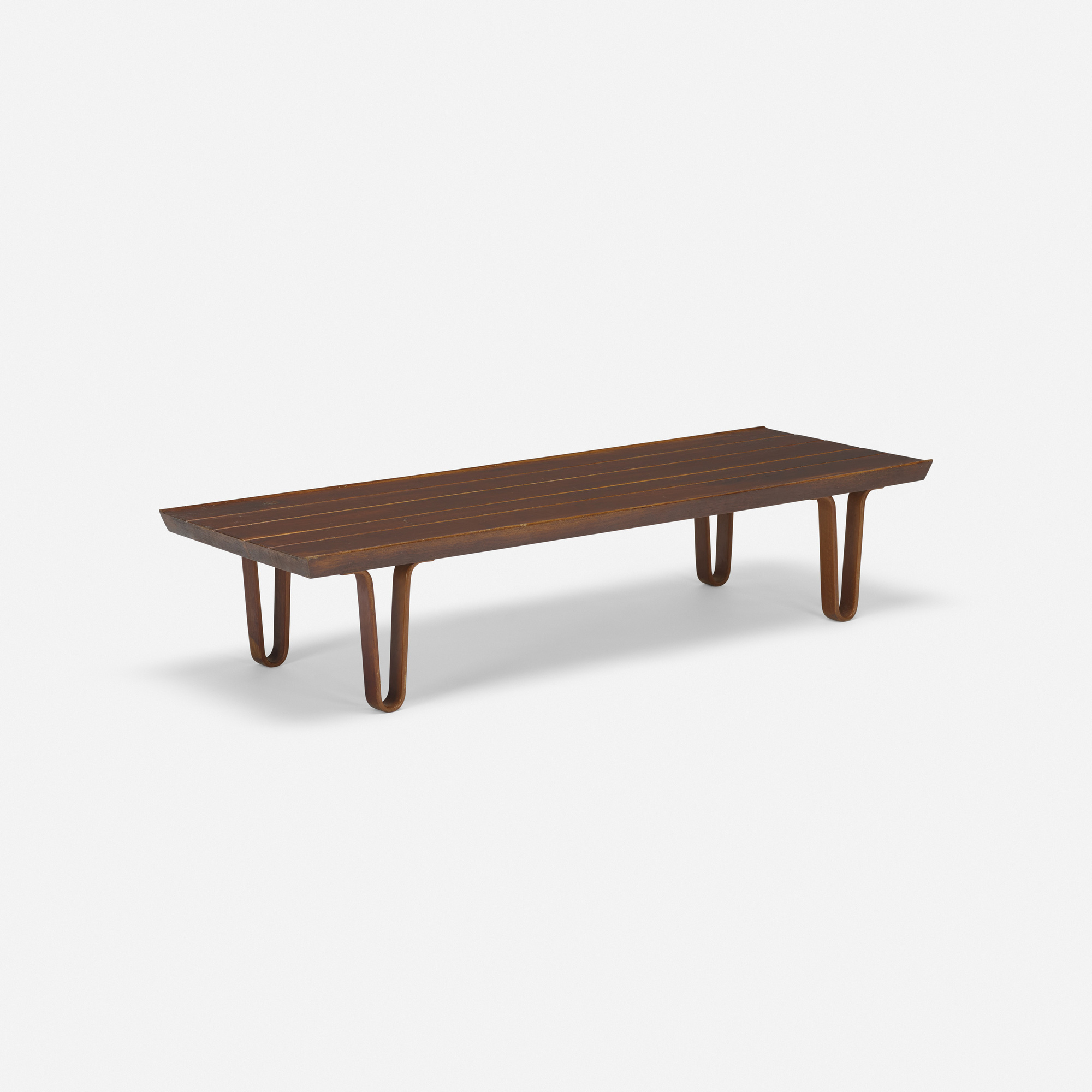 384 Edward Wormley Long John Coffee Table 1 Of 4