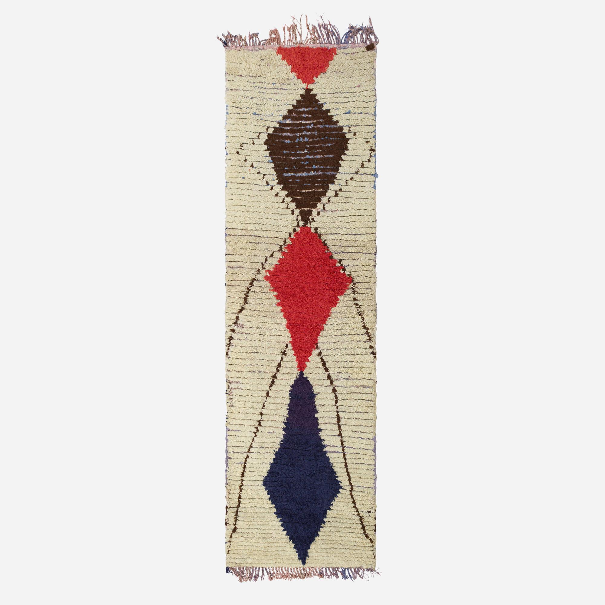 384: Moroccan / half-pile carpet (1 of 1)