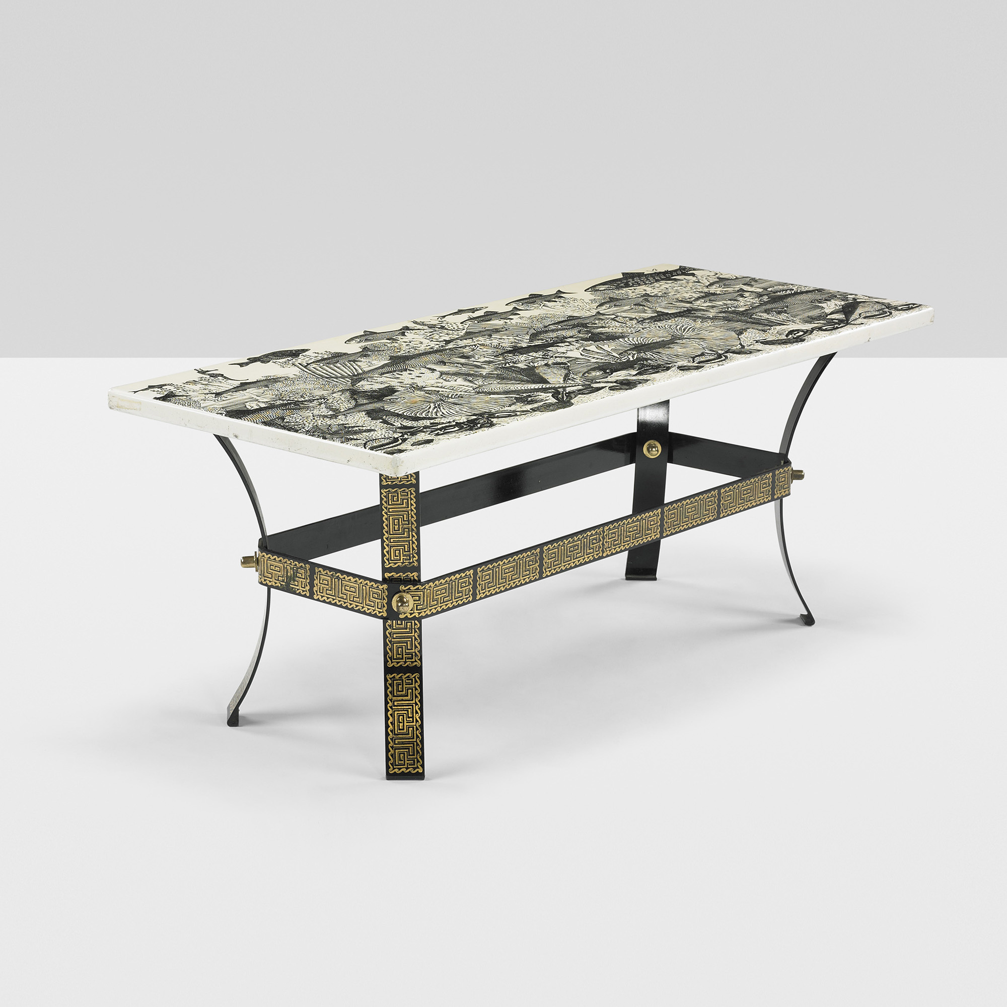 386: Piero Fornasetti / Fondo Marino Coffee Table (1 Of 6)