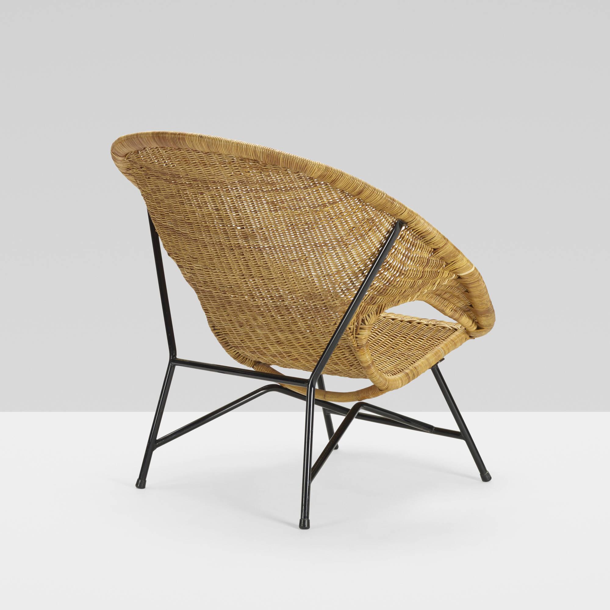 387: Dirk van Sliedregt / rare lounge chair, model 600 (3 of 4)