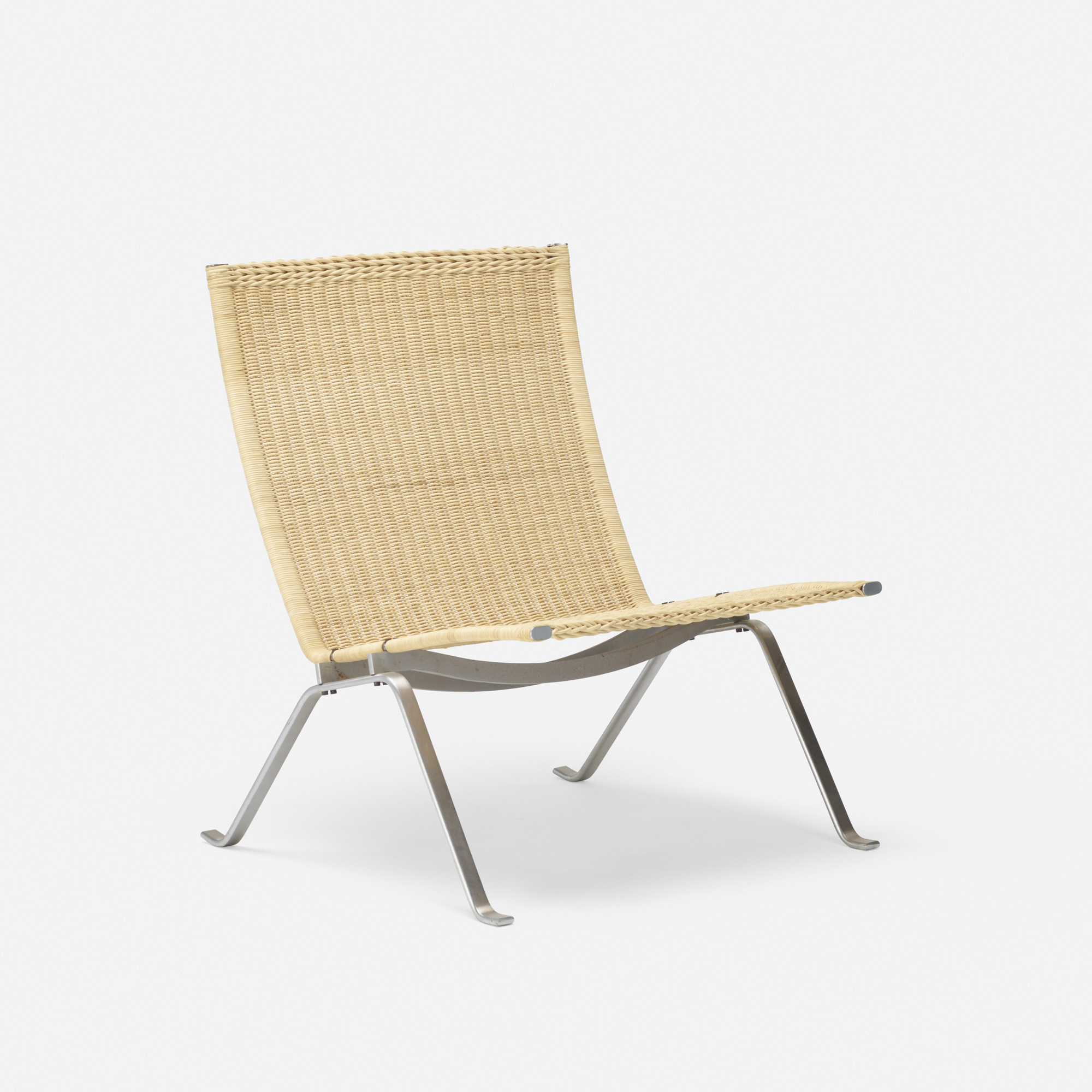 388: Poul Kjaerholm / PK 22 chair and additional chair components (1 of 3)