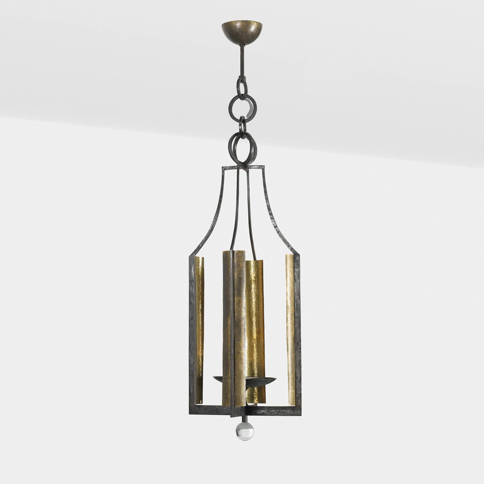 389: Hervé Van der Straeten / chandelier from a Robert Couturier Interior (1 of